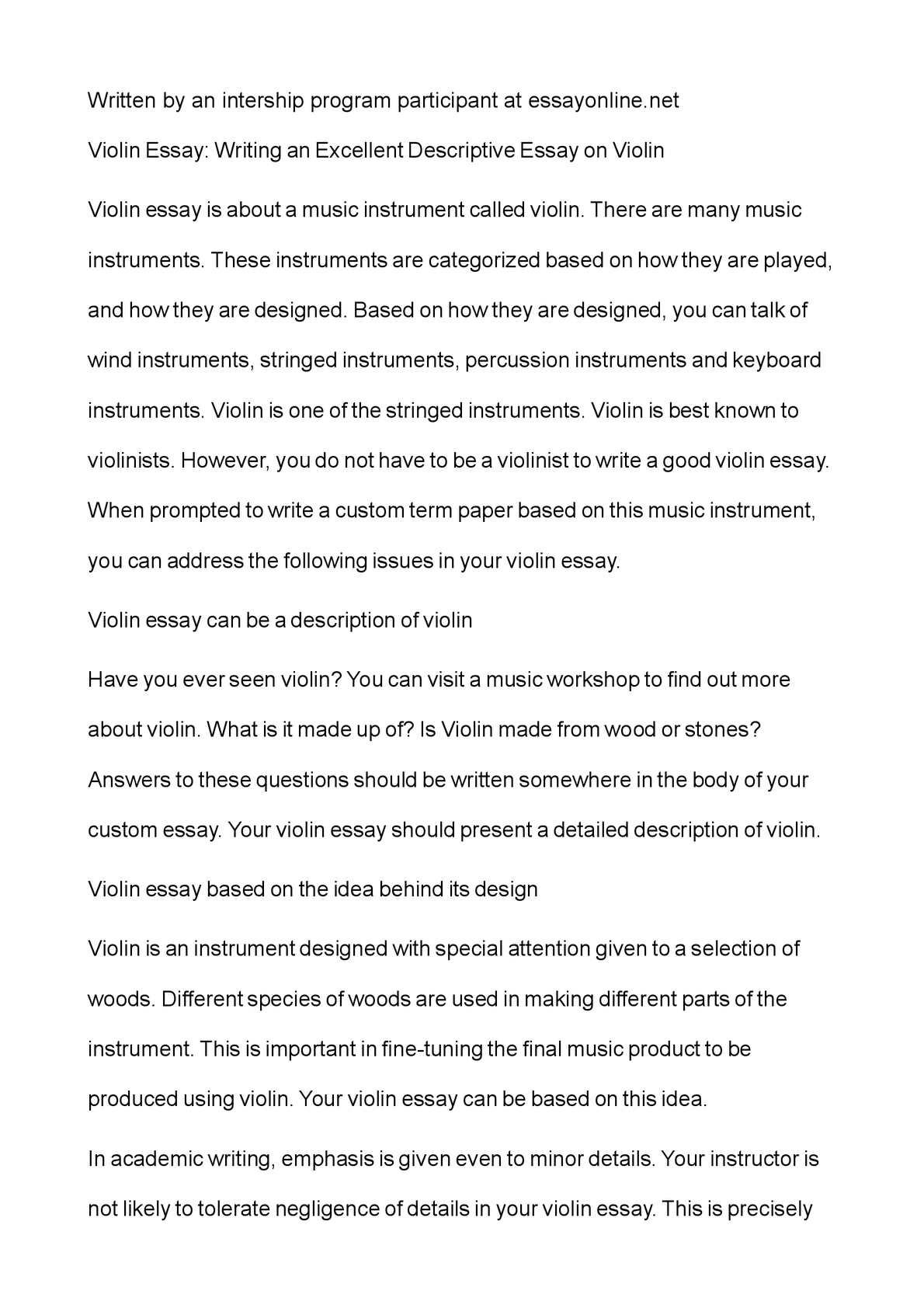 best descriptive essay comparison and contrast essay topics best  calam eacute o violin essay writing an excellent descriptive essay on calameacuteo violin essay writing an