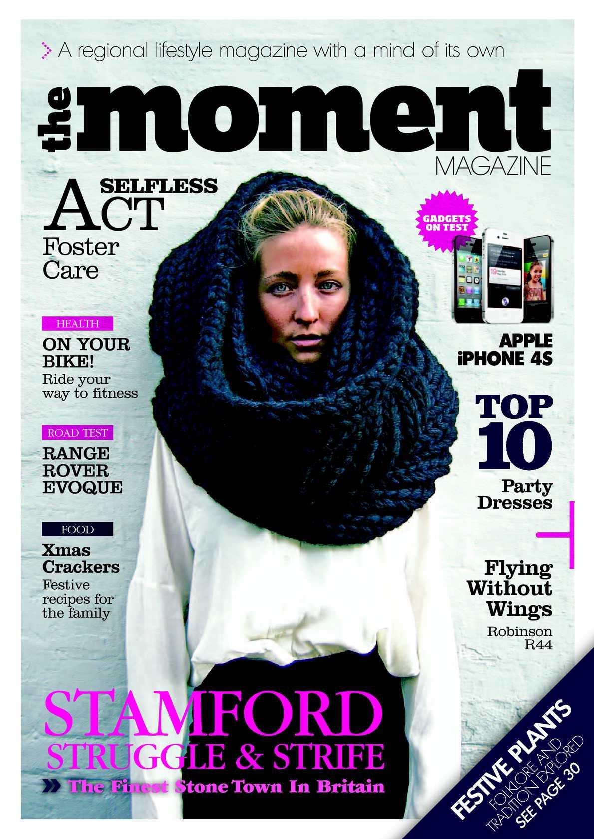 d458017e50916e Calaméo - The Moment Magazine - January 2012 - Issue 7 - FULL EDITION
