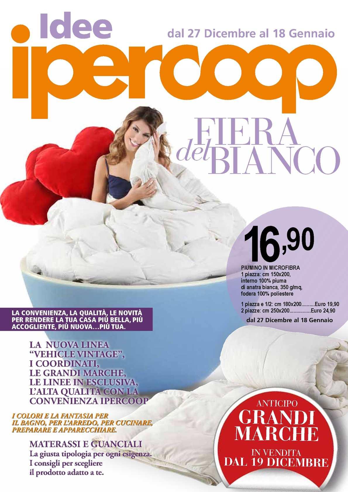 Materasso Memory Offerta Coop.Calameo Offerte Ipercoop Sandona Di Piave Fiera Del Bianco 12 2011