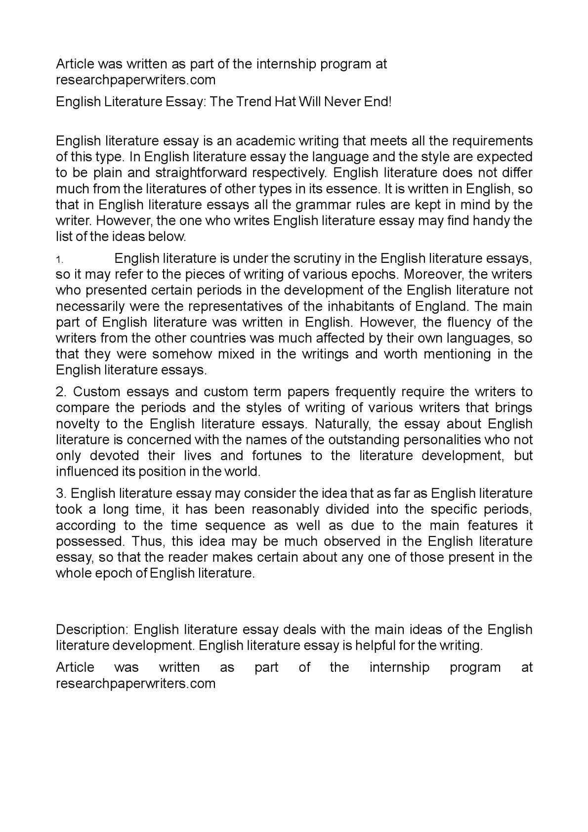 How To Write A Proposal Essay  Narrative Essay Topics For High School Students also Reflective Essay English Class Calamo  English Literature Essay The Trend Hat Will Never  Example Of Essay Proposal