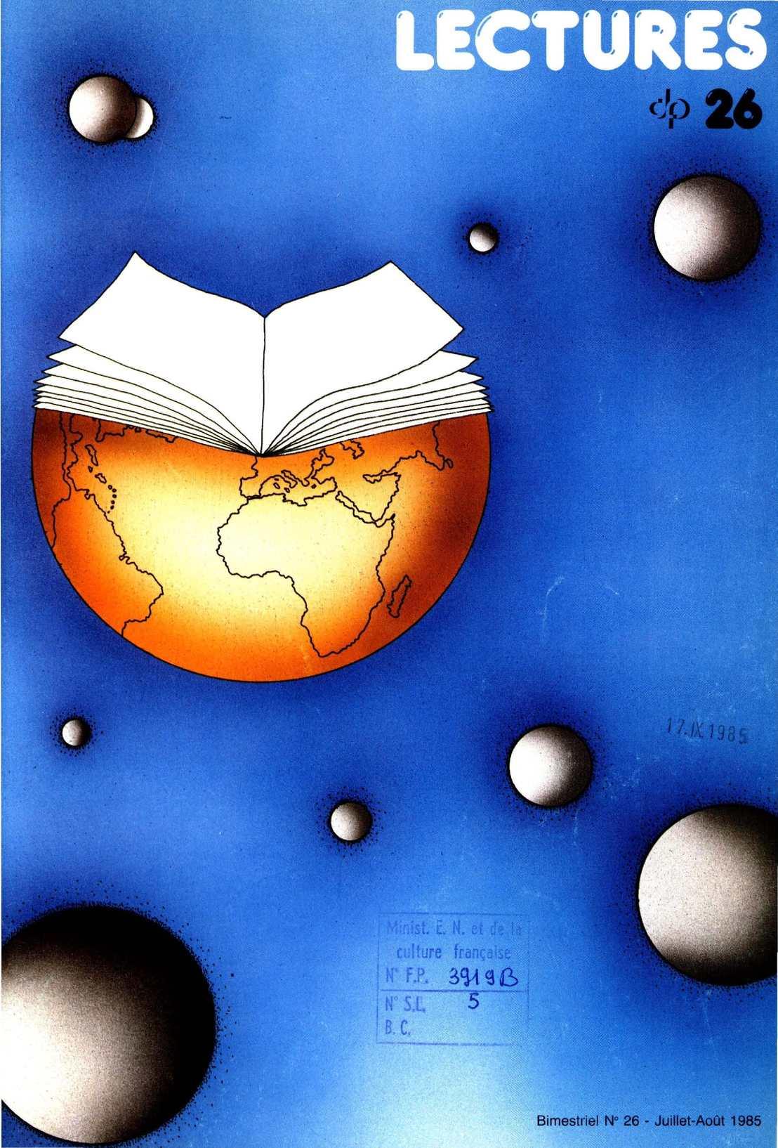 Calaméo - Lectures, 26, juillet - août 1985 af6e2d1a0b8b