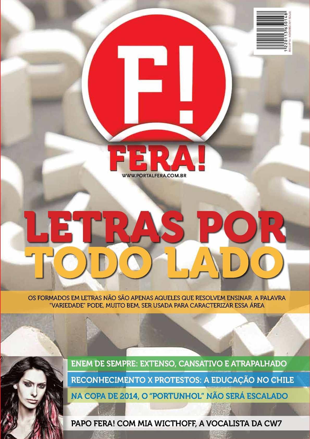 Calaméo - Revista Fera! ed. 14 6123425f10ae1