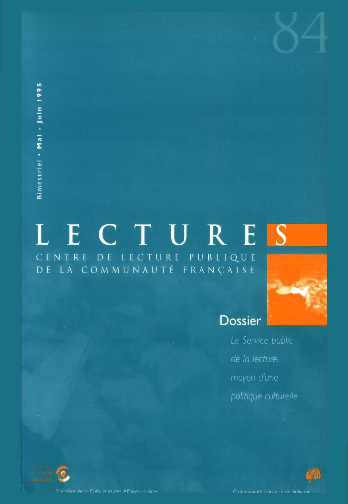 Calaméo Lectures 84 Mai Juin 1995