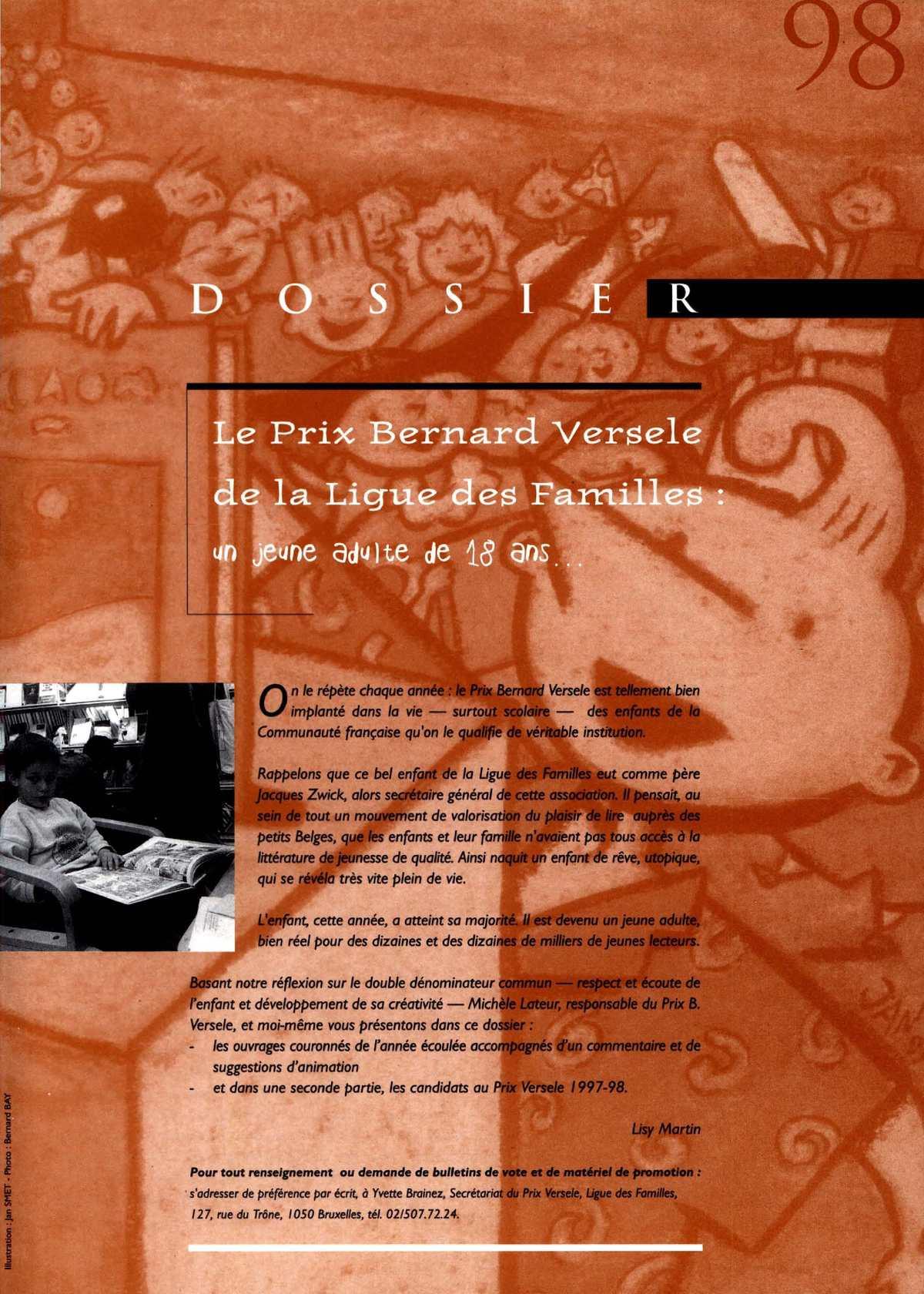 Calaméo - Lectures, 98, septembre - octobre 1997 bef01615b3cd
