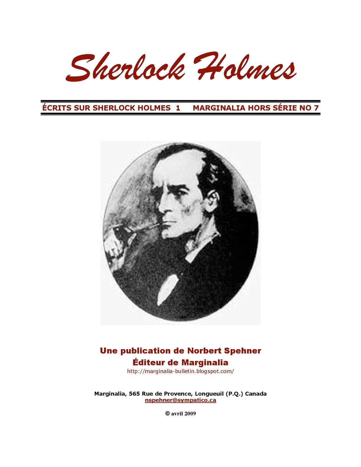 Calaméo - SHERLOCK HOLMES