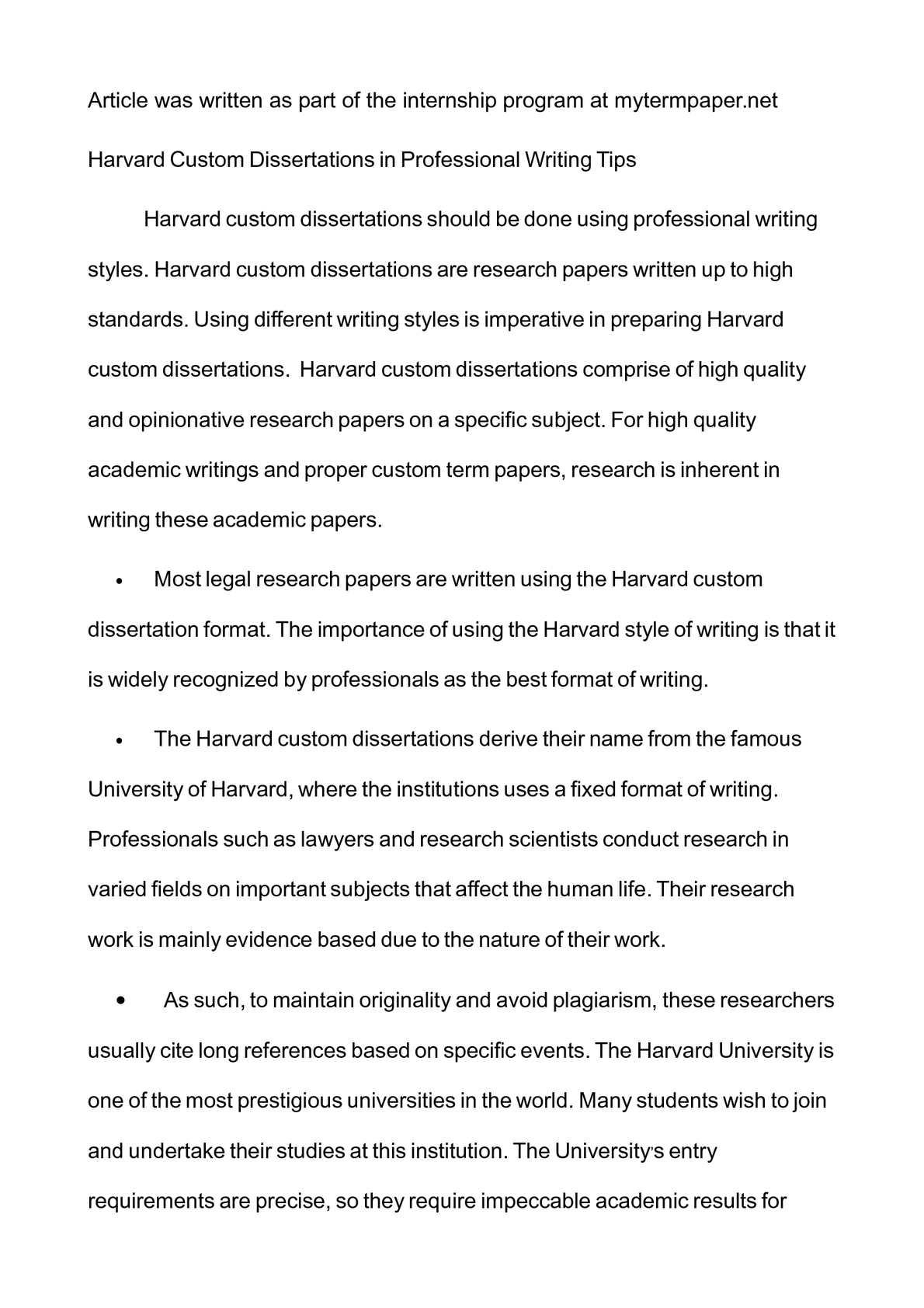 Harvard dissertation cheap essay writing service us