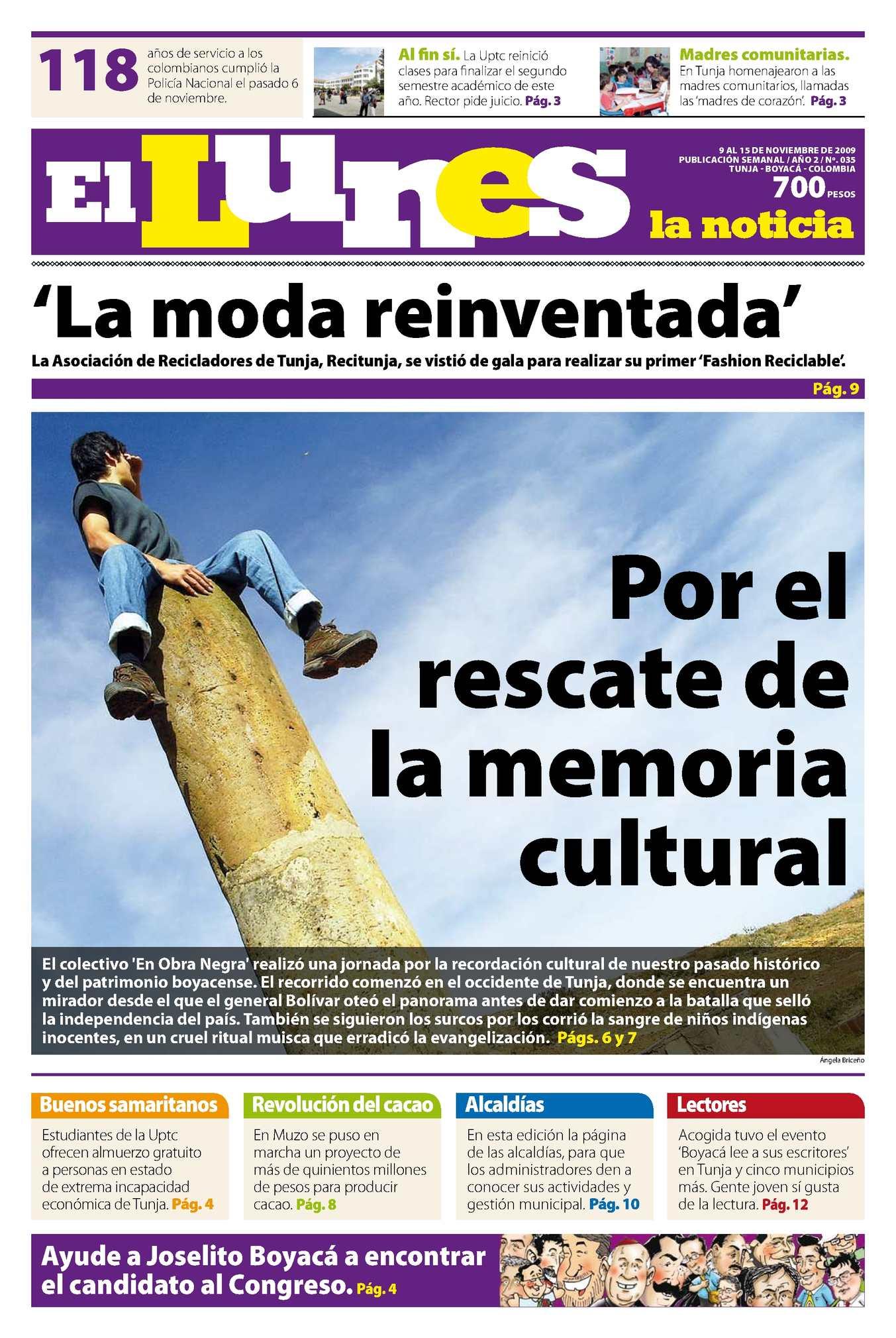 Calaméo El Lunes Edición 35