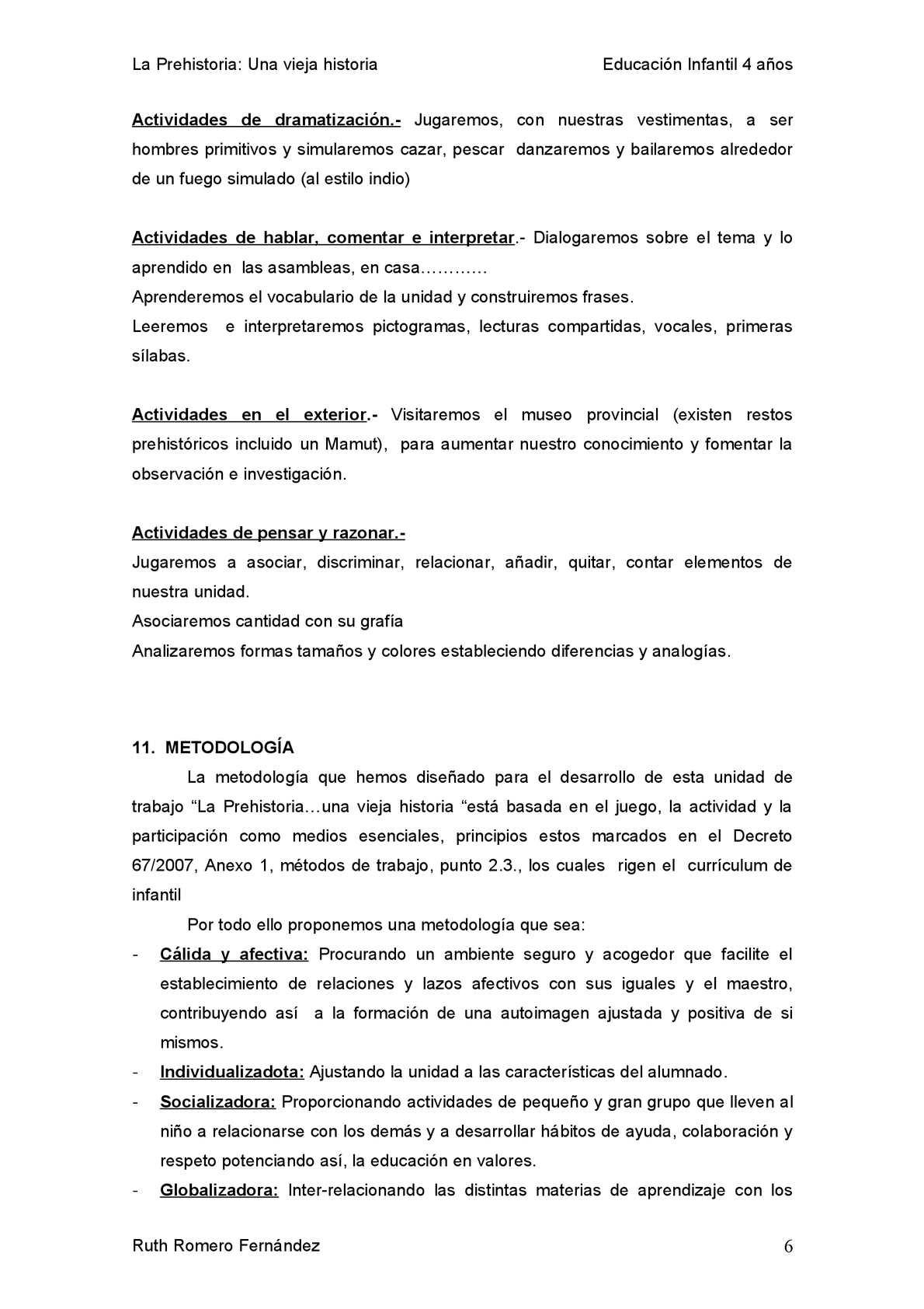 Unidad Didáctica La Prehistoria Calameo Downloader