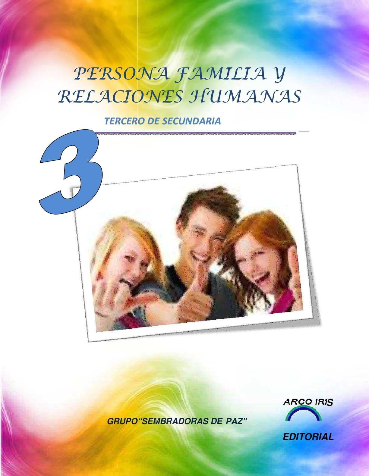Calaméo Libro De Persona Familia Y Relaciones Humanas