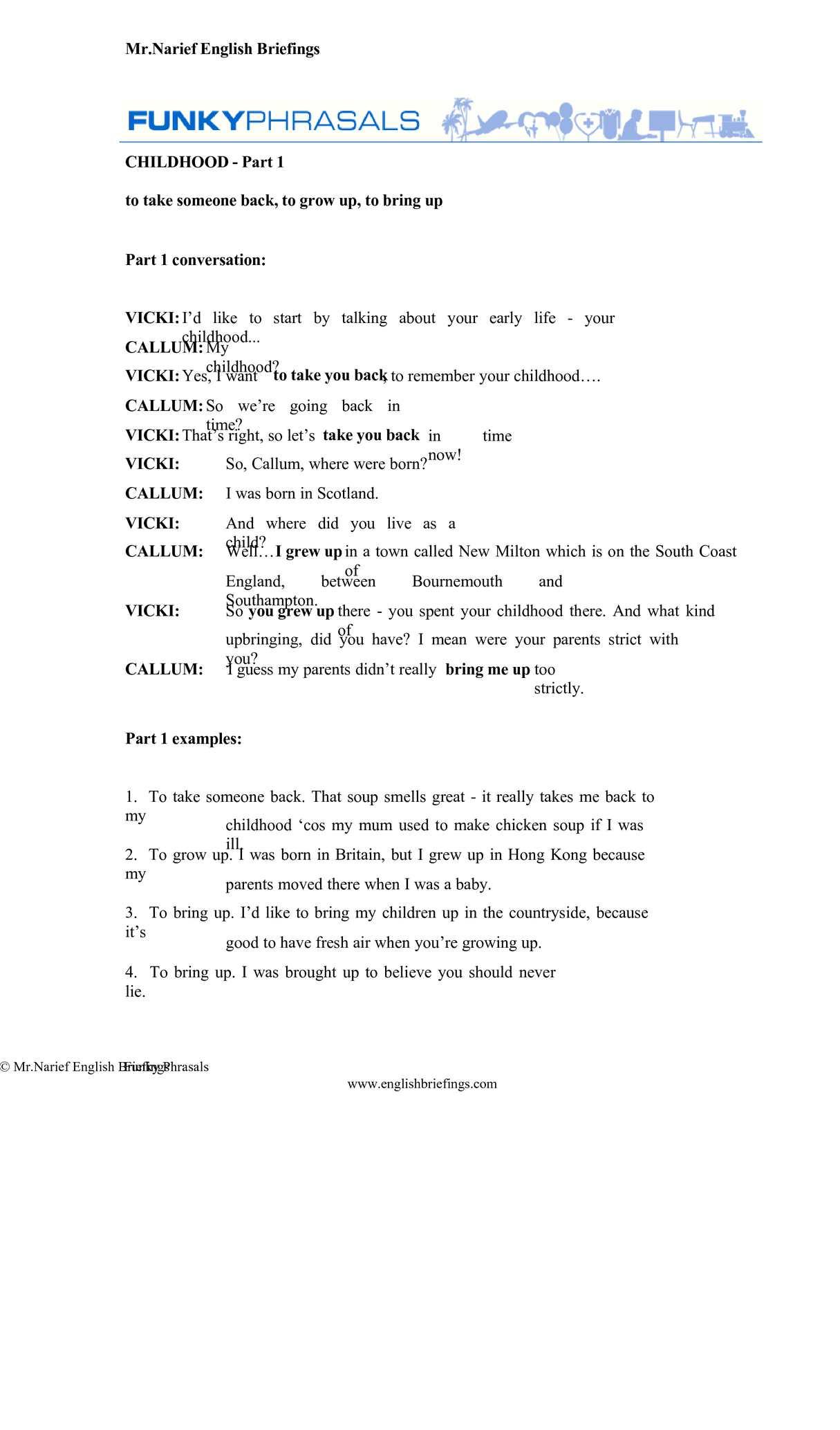 Calaméo - English Phrasal Verbs, Simple & Easy