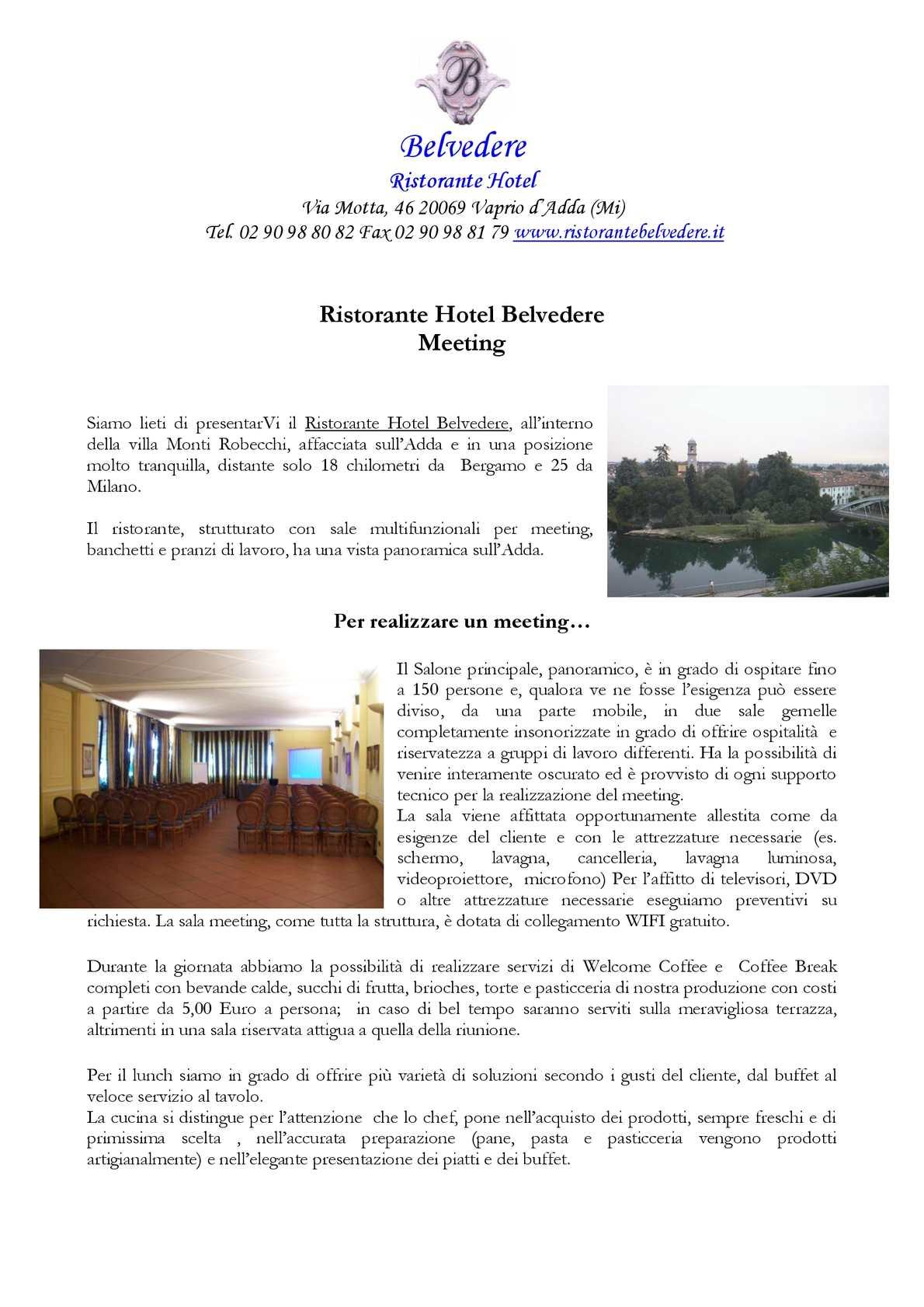 Calaméo Brochure Meeting
