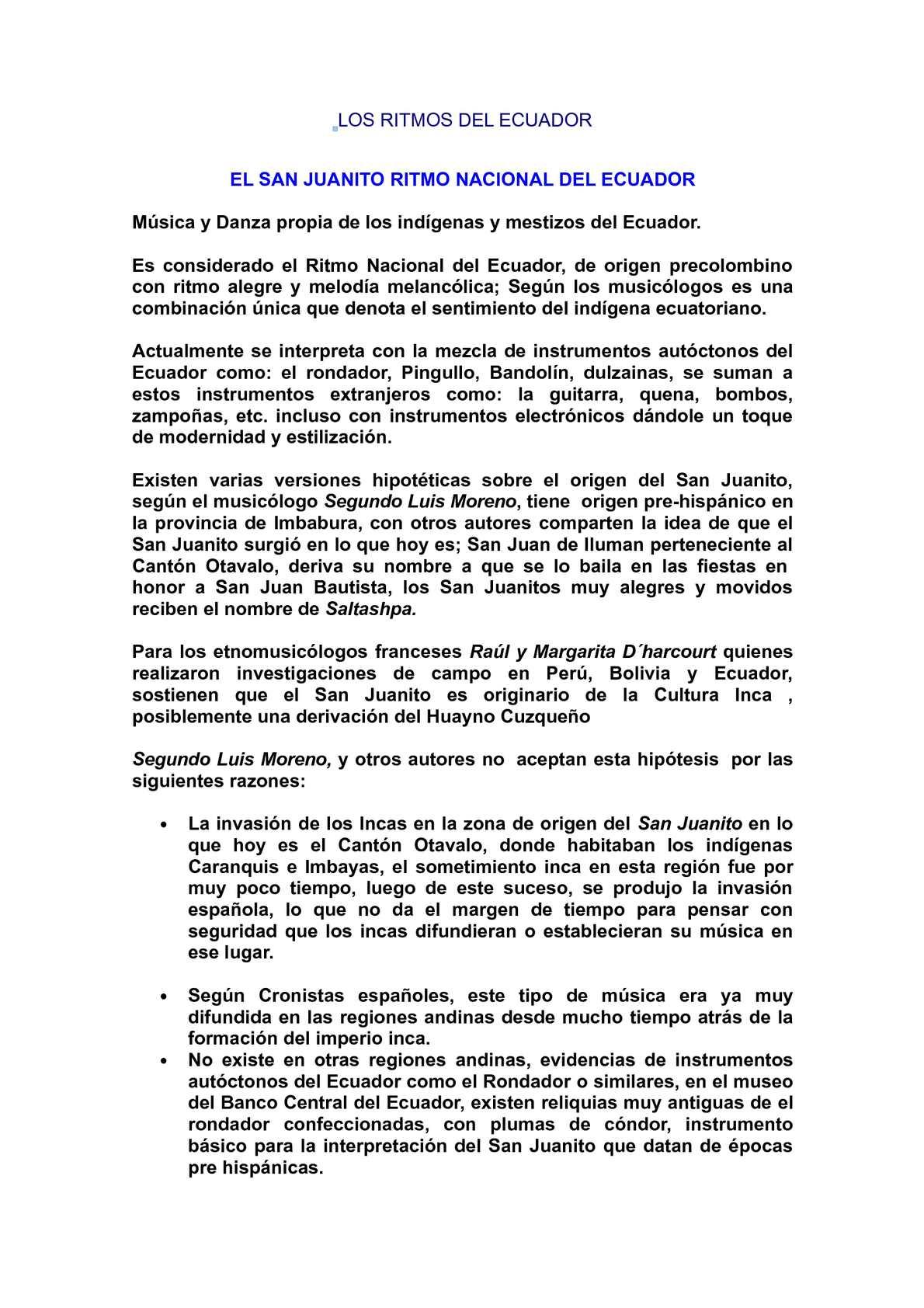 Calaméo Ritmos Ecuatorianos