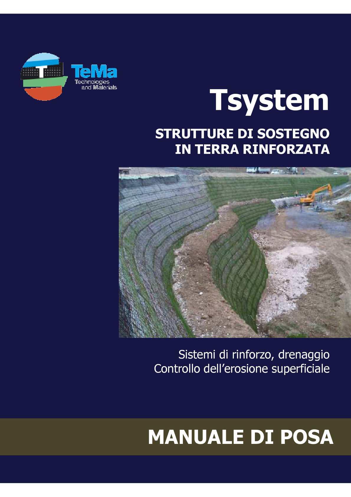 Tema Terre Rinforzate.Calameo Manuale Posa Del Sistema Terre Rinforzate Tema