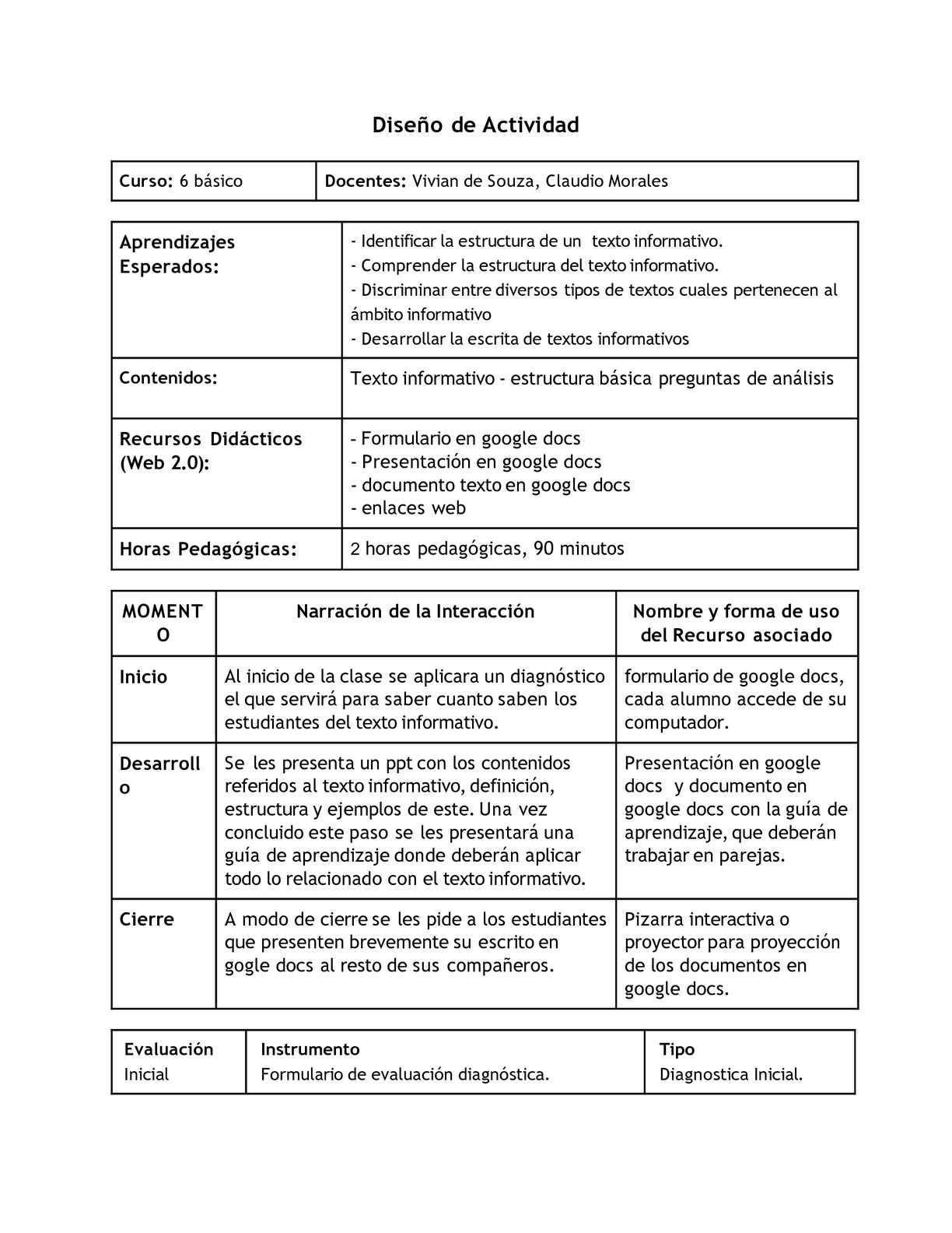 Calaméo Texto Informativo Planificación Y Guia