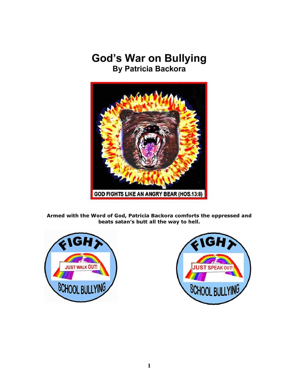 86d292dad00d92 Calaméo - God s War on Bullying