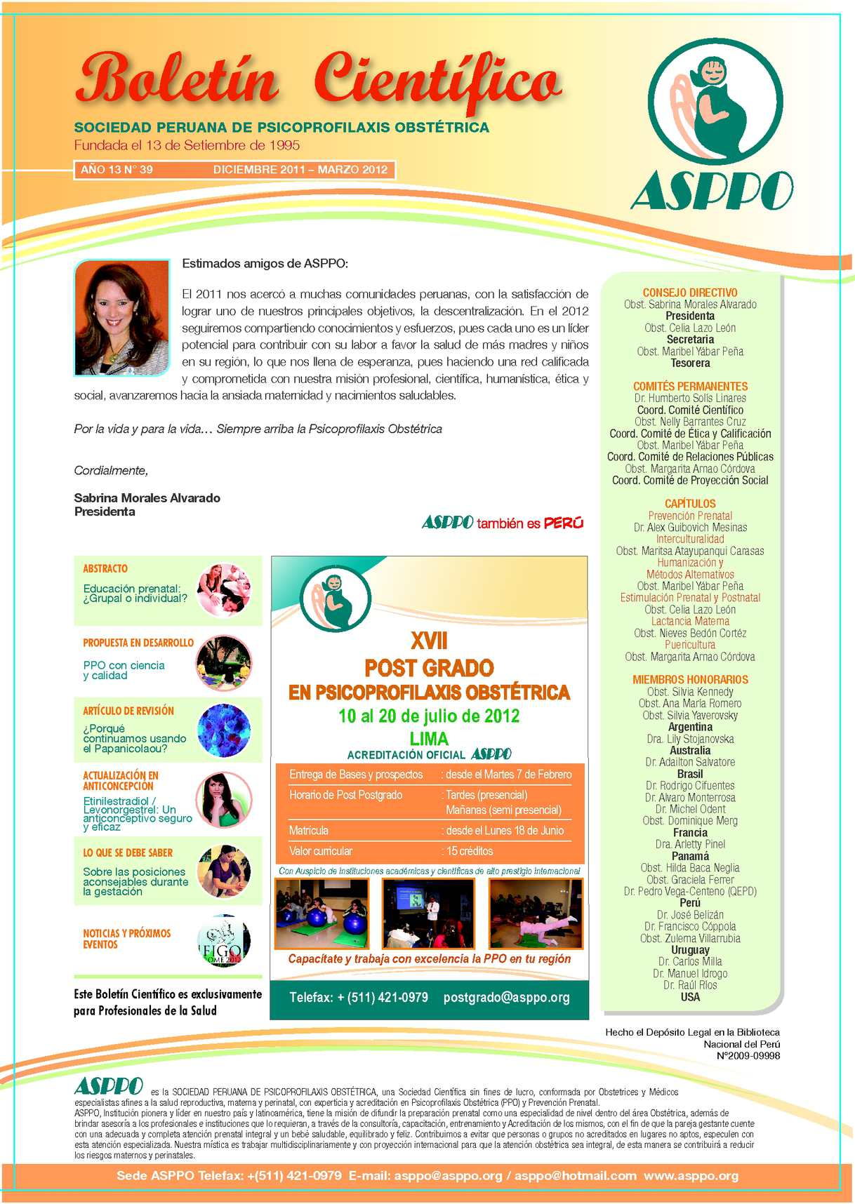 8c421875d1 Calaméo - Boletín Científico Año 13 N° 39 Diciembre 2011- Marzo 2012