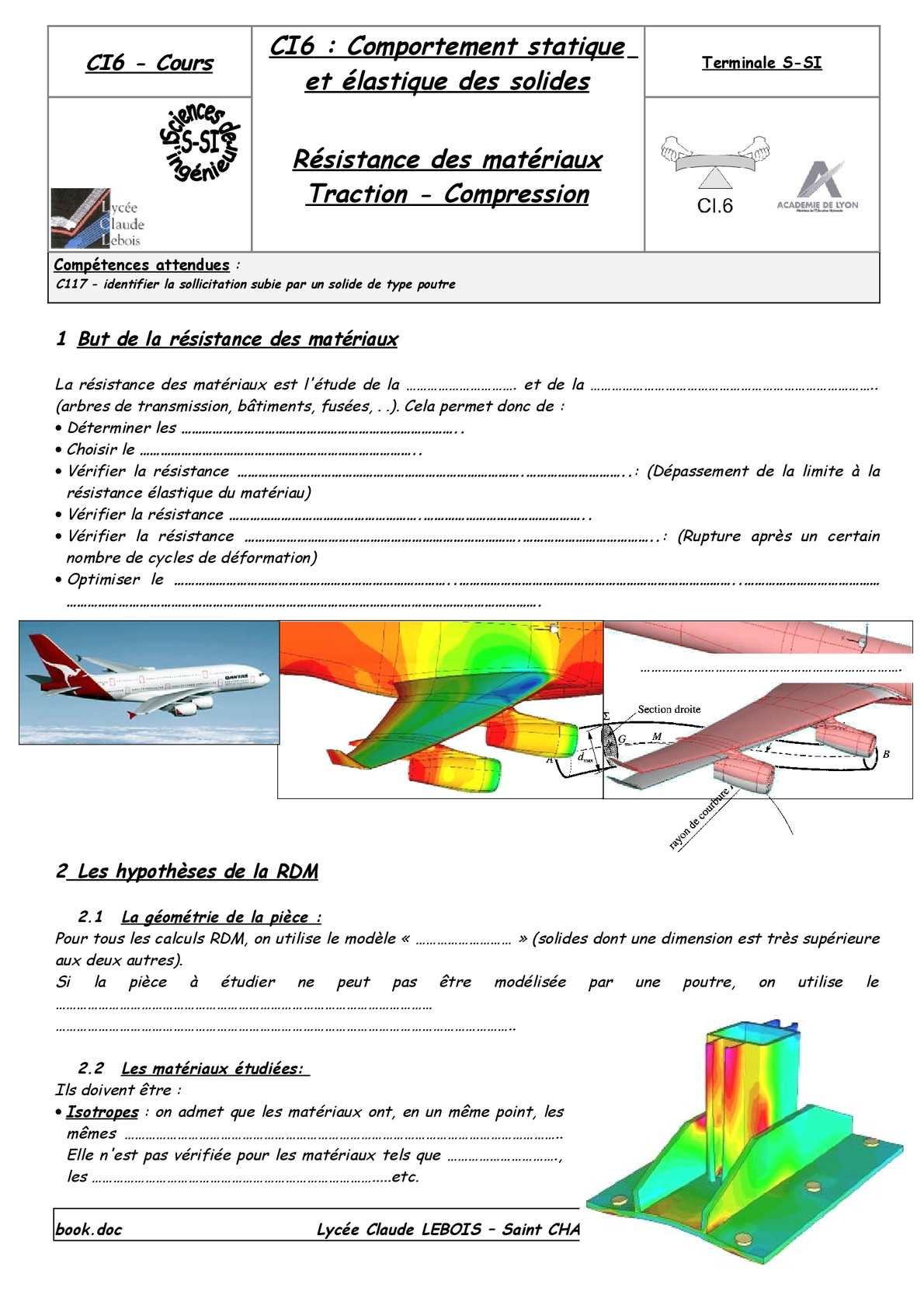 Calaméo - Cours RDM traction compression