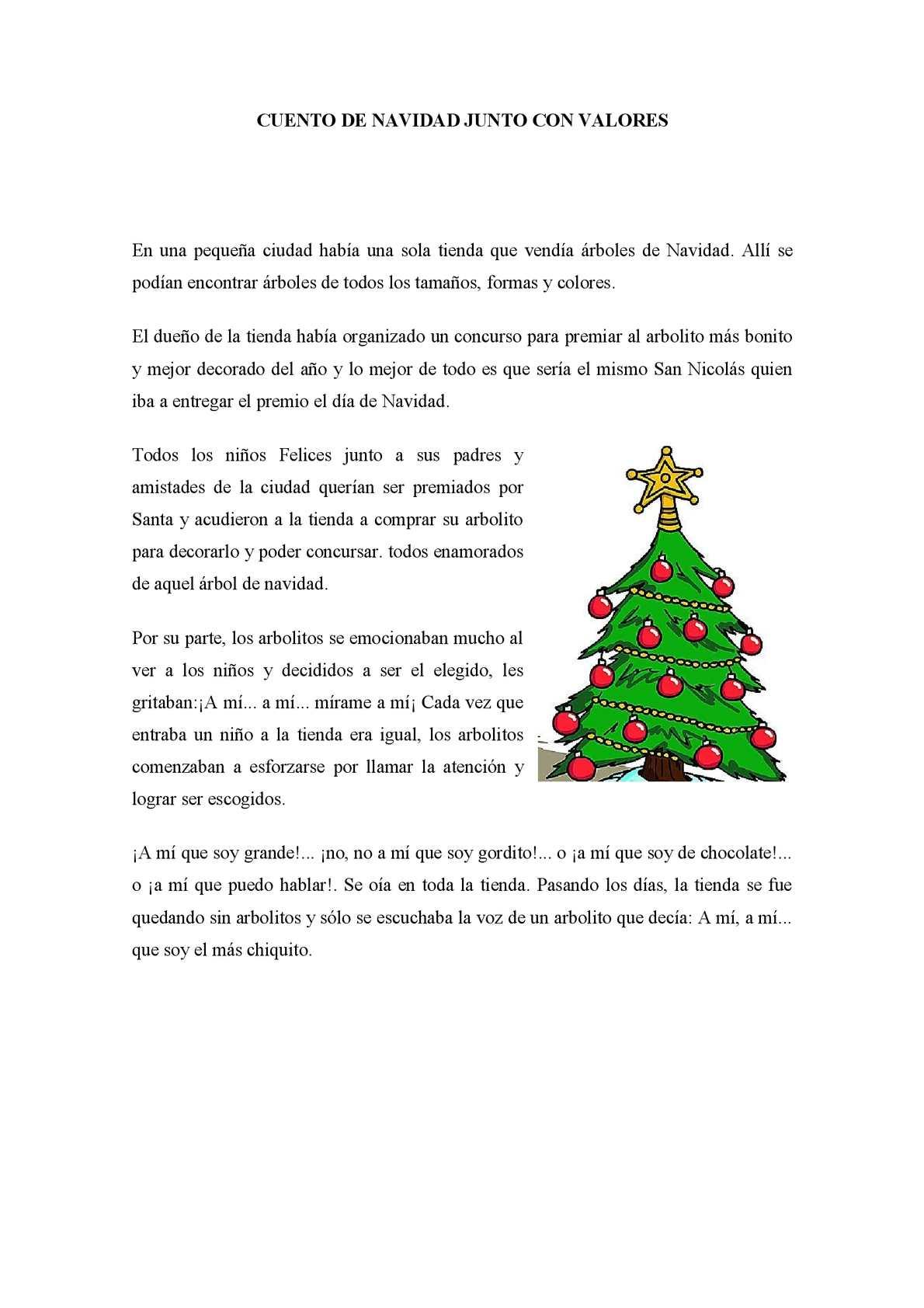 97e4c4d1372 Calaméo - CUENTO DE NAVIDAD JUNTO CON VALORES