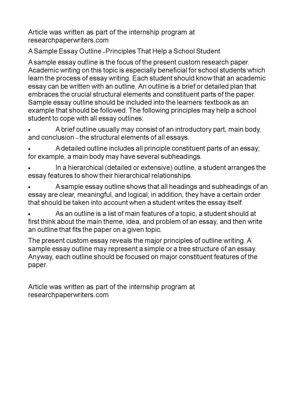 simple essay outline okl mindsprout co simple essay outline