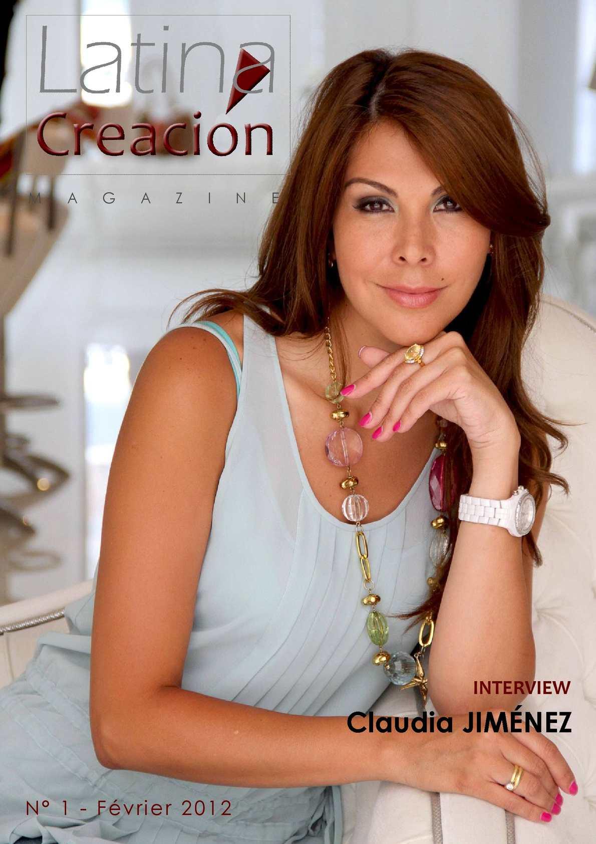Latina Creación Magazine - Février 2012