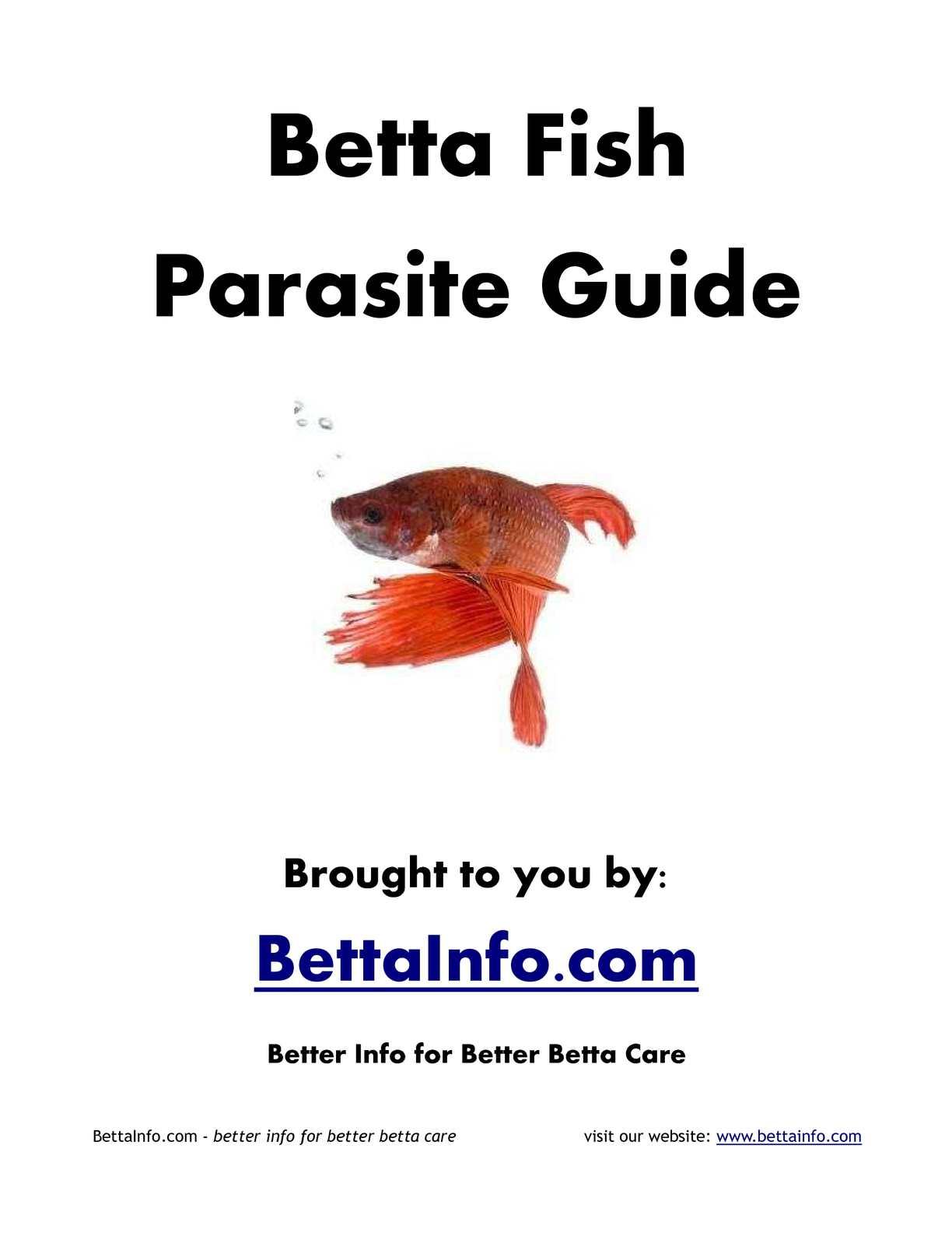 Calaméo - Betta Fish Parasite Guide