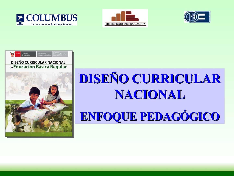 Calaméo Resumen Del Diseño Curricular Basico