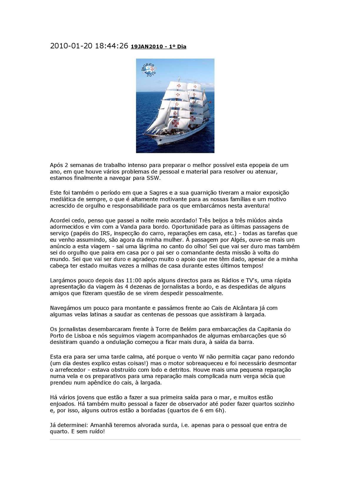 Calaméo - A viagem da sagres em 2010 444079cd6bafc