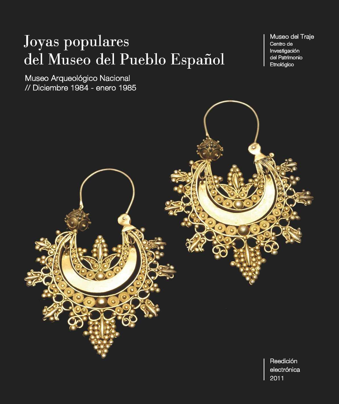9aa1362492cf Calaméo - Joyas populares del Museo del Pueblo Español