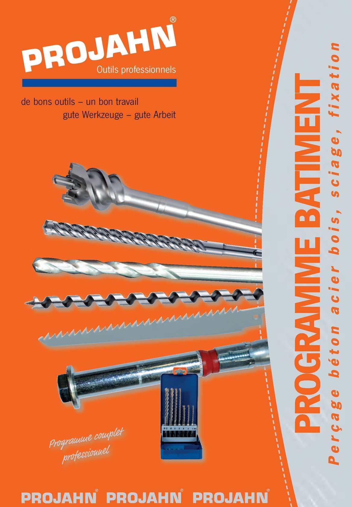 Projahn 914600 M/èche /à bois en acier rapide 14 x 600/mm