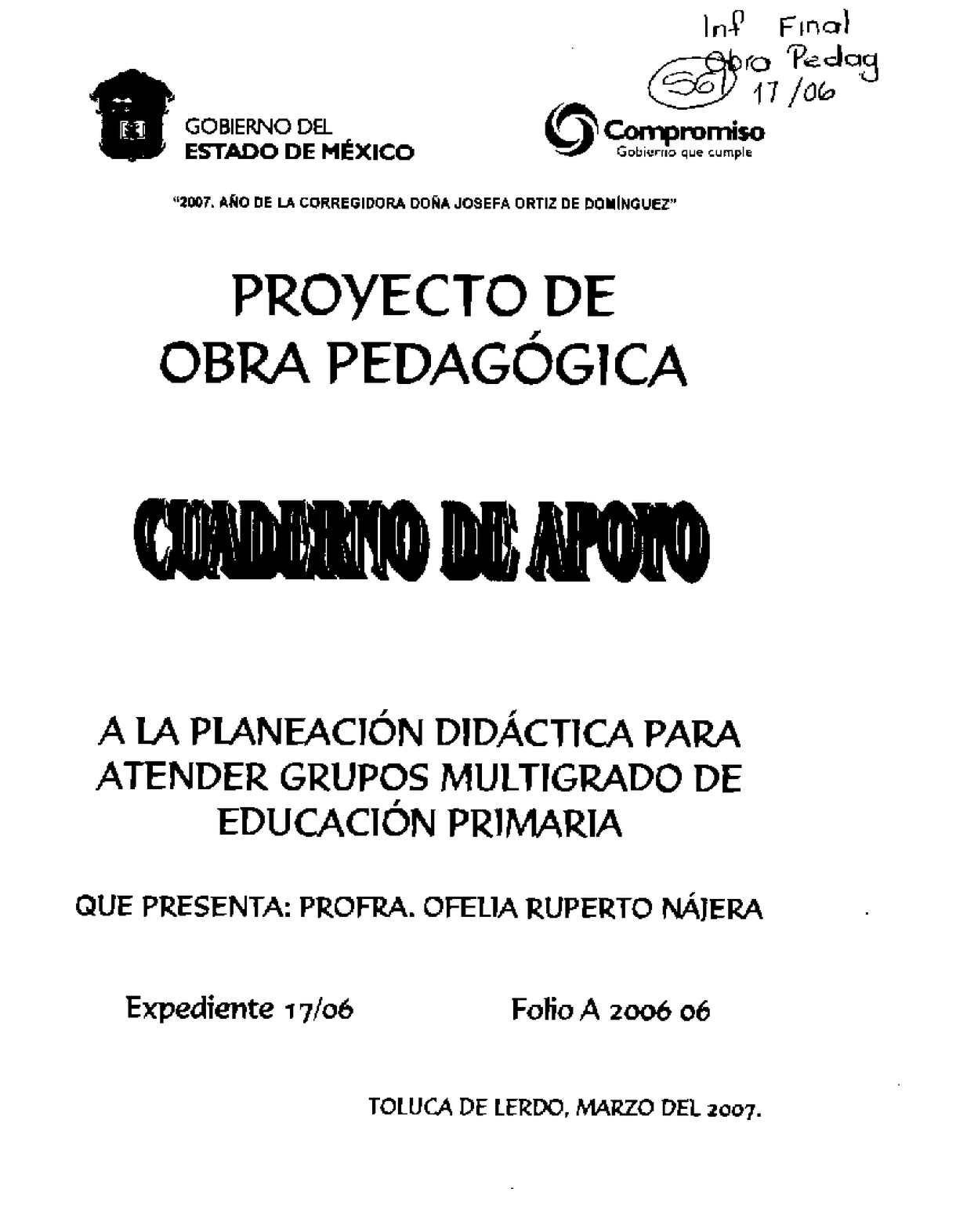 Calaméo Cuaderno De Apoyo A La Planeación Didáctica Para Atender