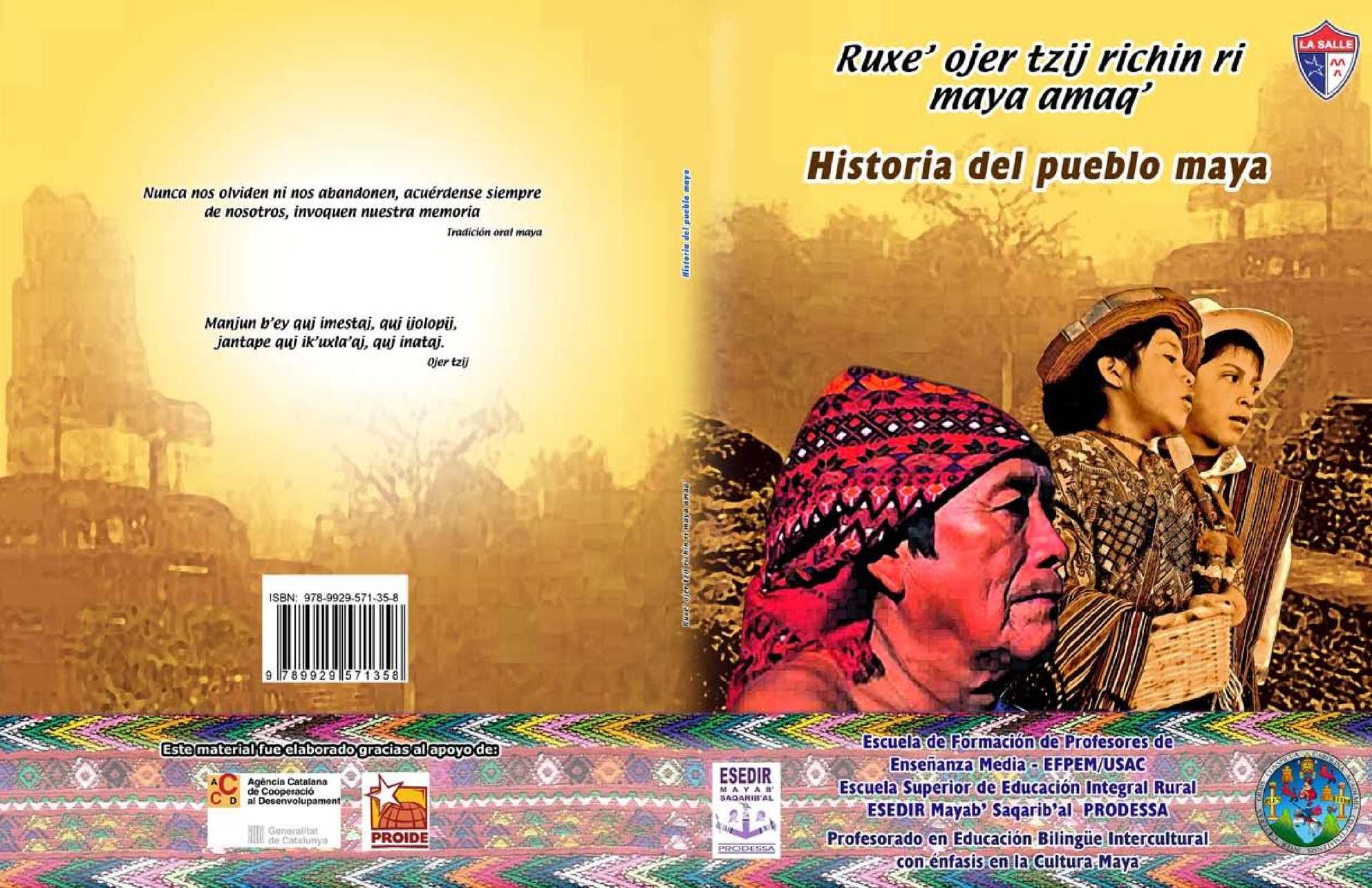 Historia del pueblo maya
