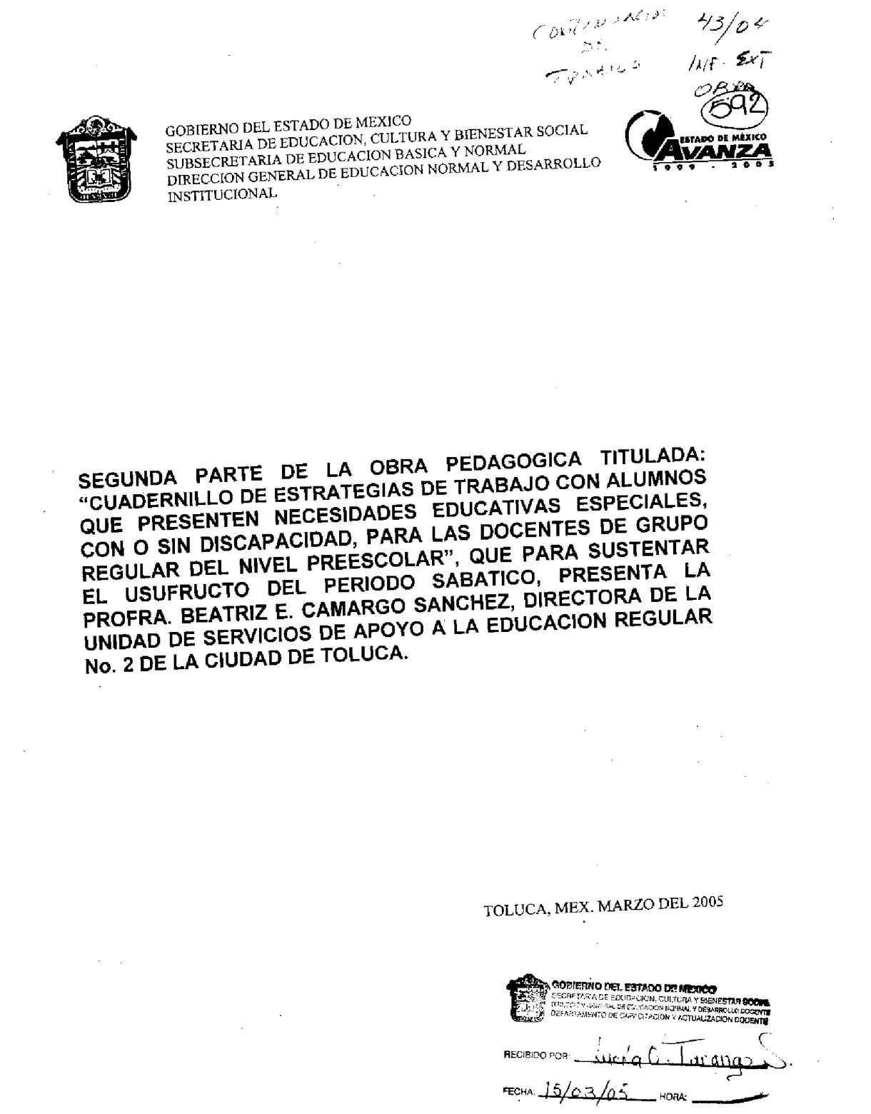 Calaméo - Segunda parte  Cuadernillo de estrategias educativas especiales a6ca39e868b