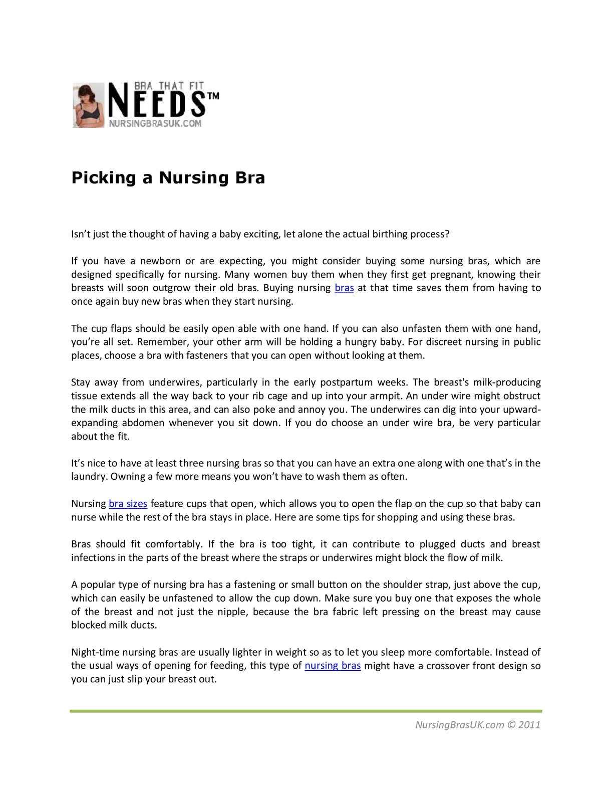 743e06bdc11 Calaméo - Picking a Nursing Bra