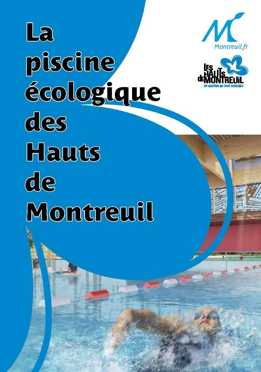 Calameo Piscine Ecologique Des Hauts De Montreuil