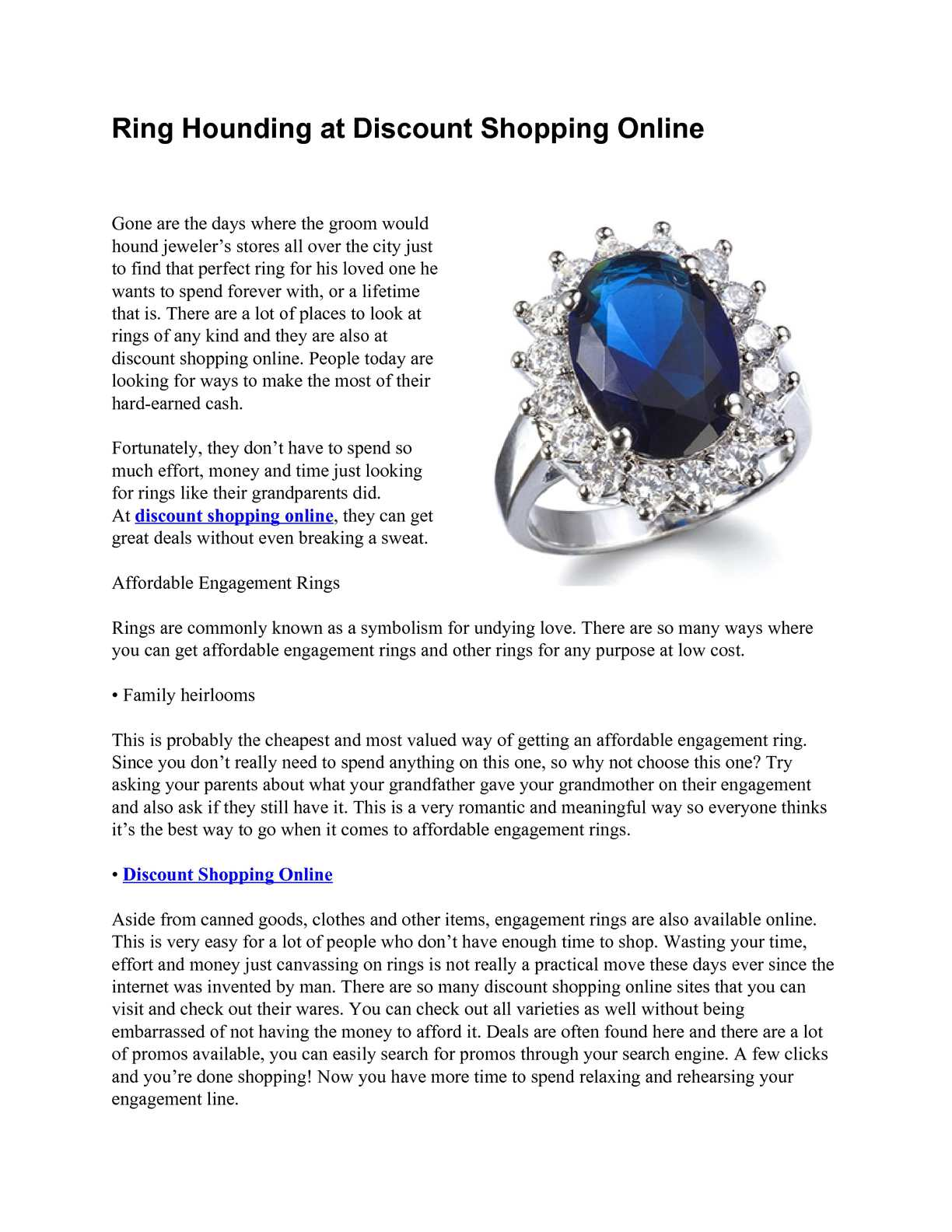 Calameo Ring Hounding At Discount Shopping Online