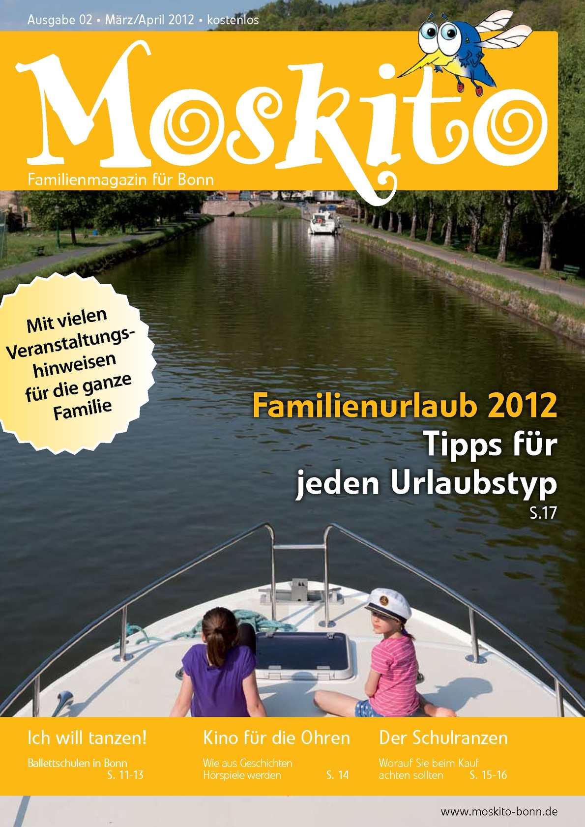 Calaméo Moskito Familienmagazin Für Bonn Ausgabe März April 2012