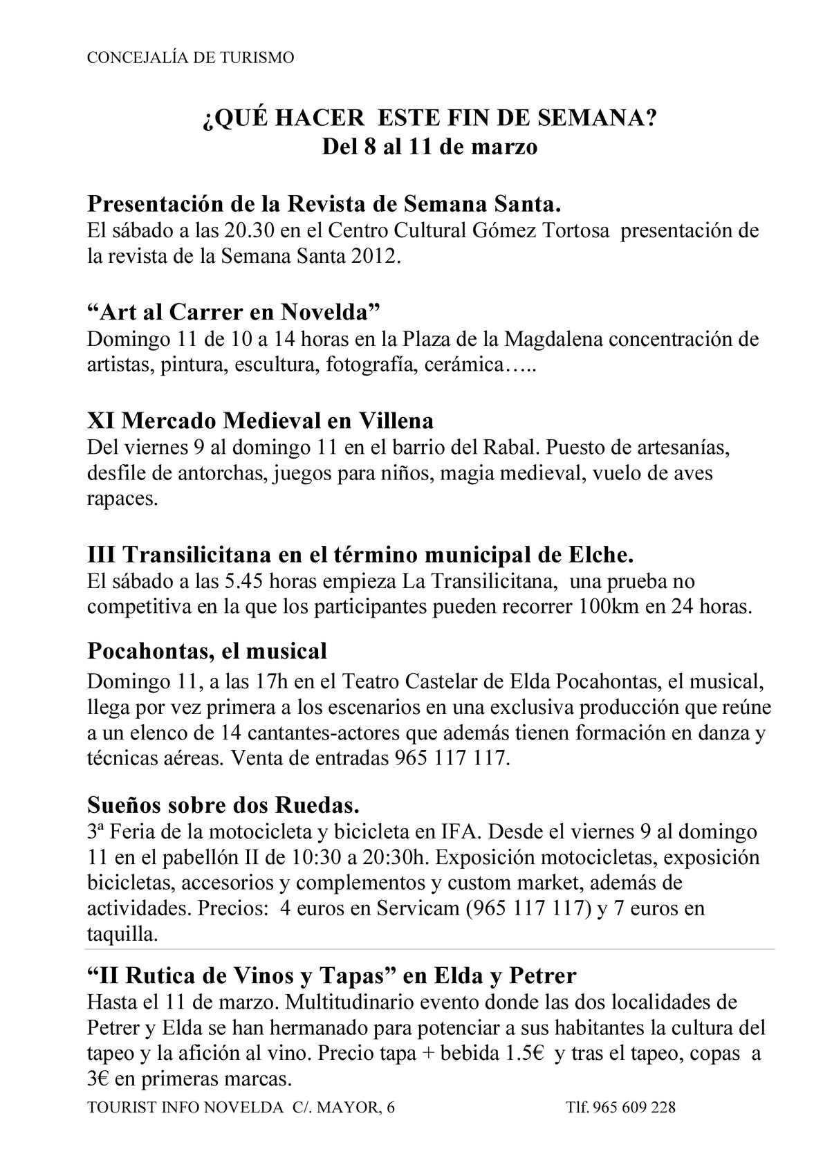 Calaméo Agenda Del 8 Al 11 Marzo