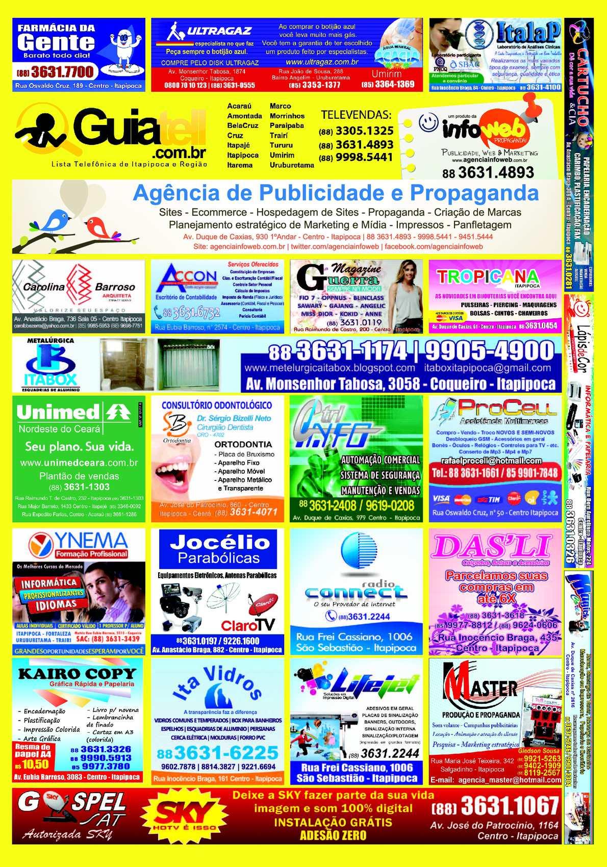 77a3ce2e0ea1e Calaméo - Guiatell Itapipoca 2012 - Listas Telefónicas