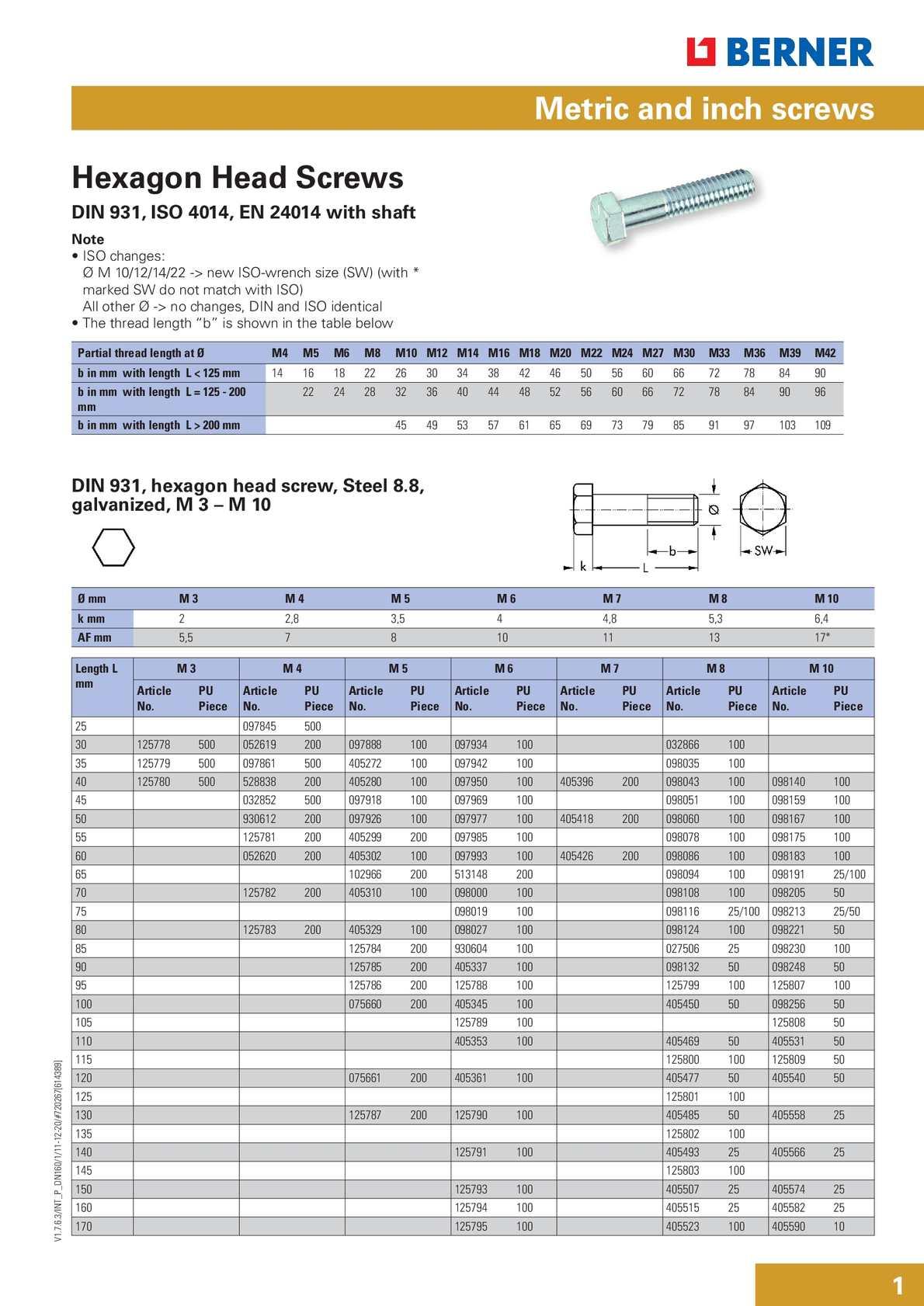 Splinte ISO 1234 Edelstahl A4 Ø 5-13