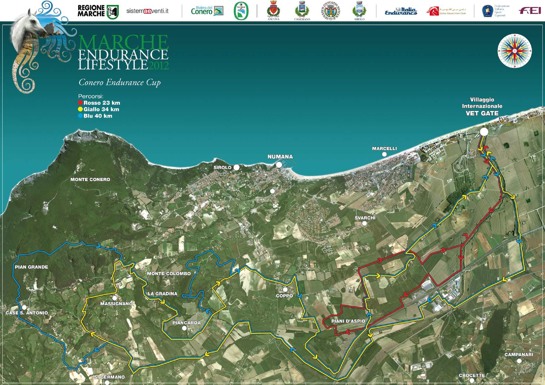 Cartina Conero Marche.Calameo Cartina Marche Endurance Lifestyle