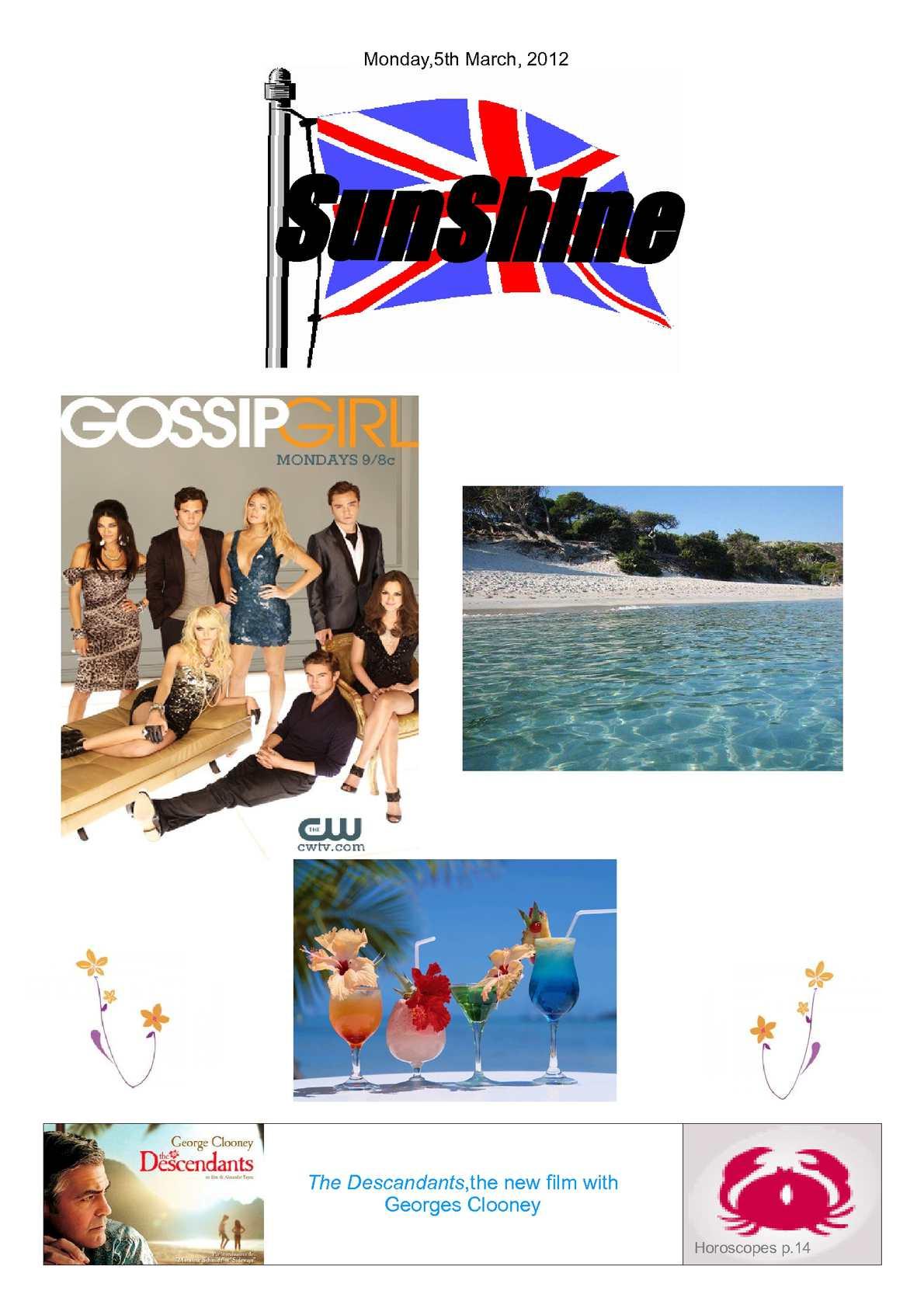 Calaméo - Sunshine n°5