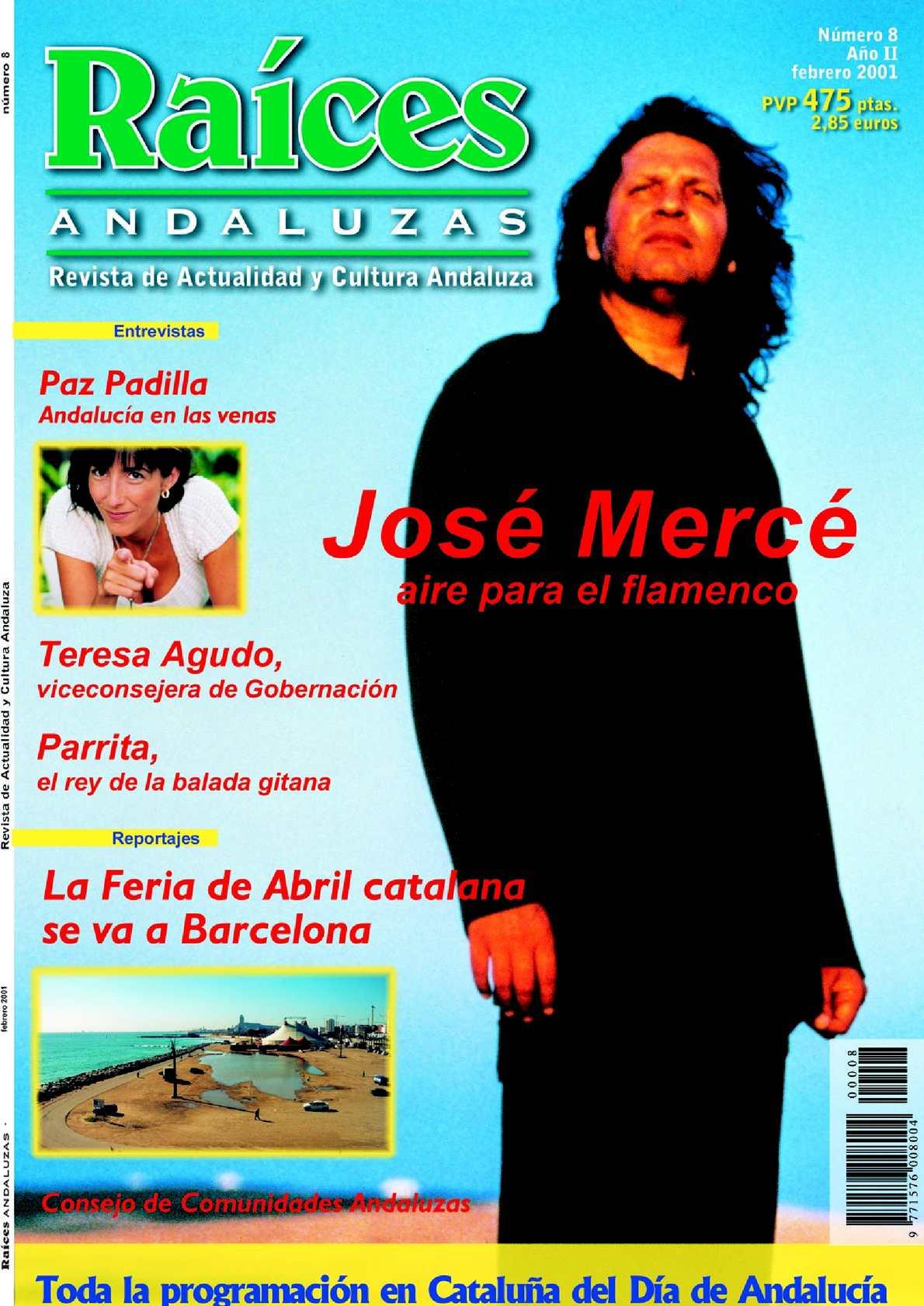 5c53c29075 Calaméo - Raíces Andaluzas 8 Febrero 2001