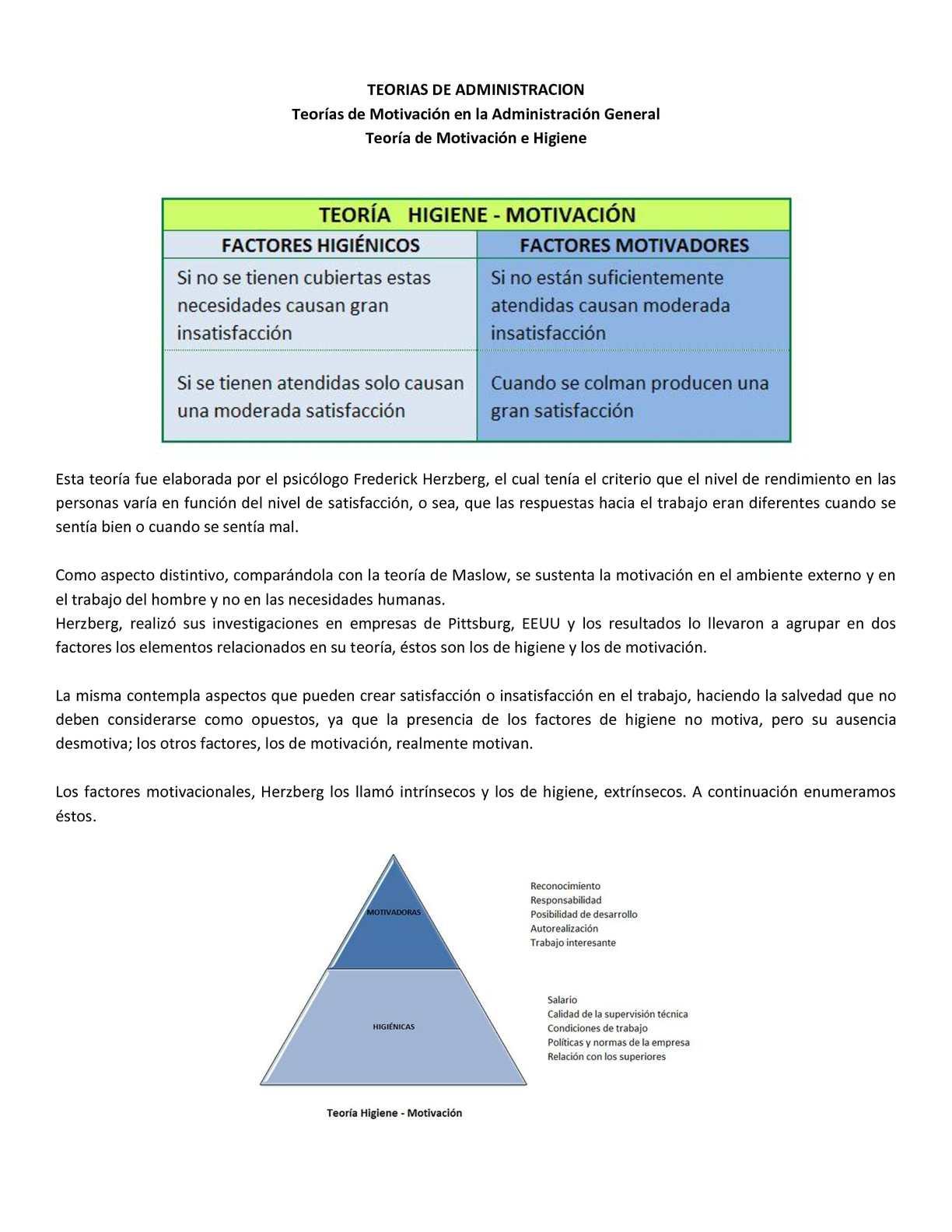 Calaméo Teorías De Administración