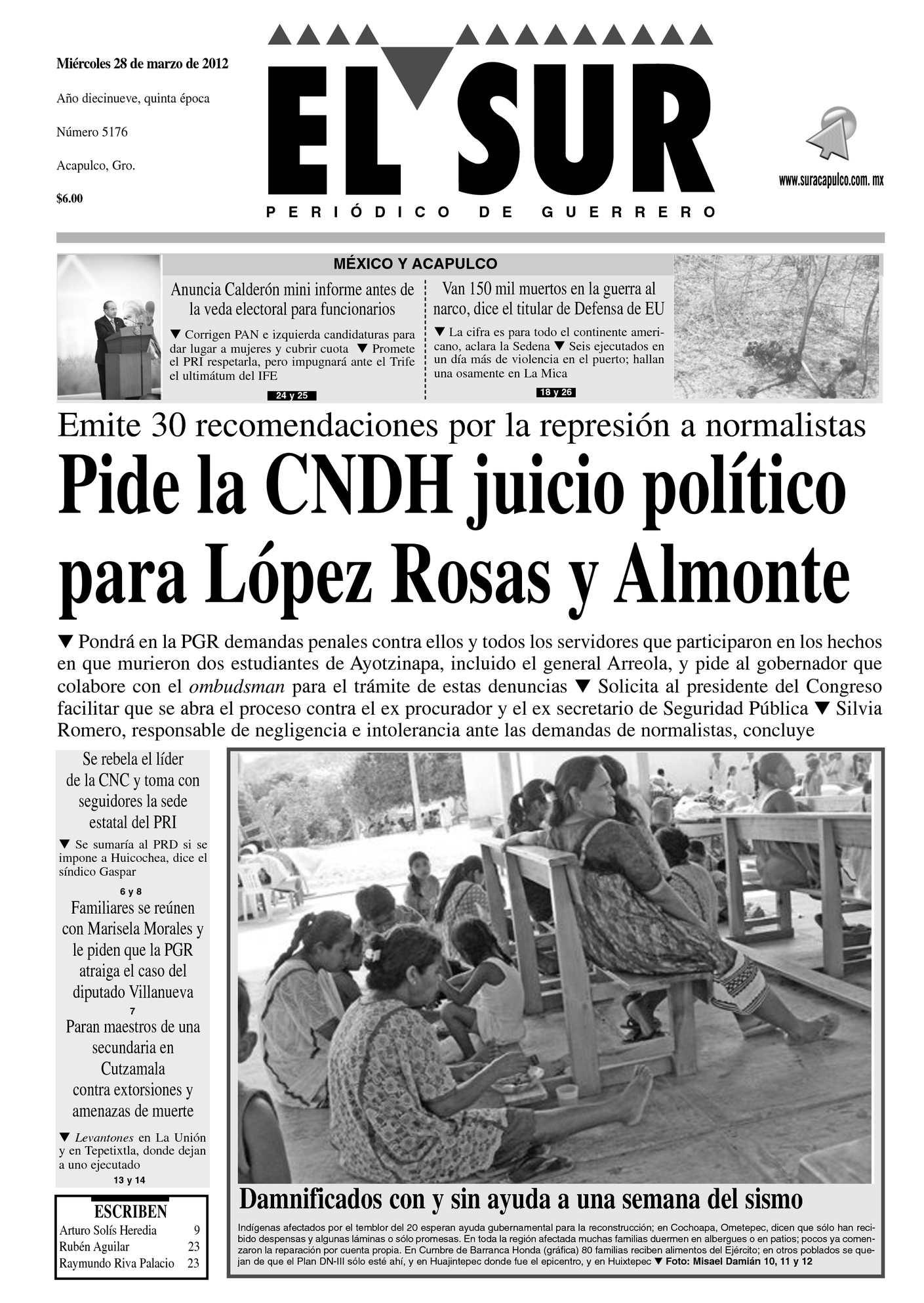 Calaméo El Sur 28 De Marzo De 2012