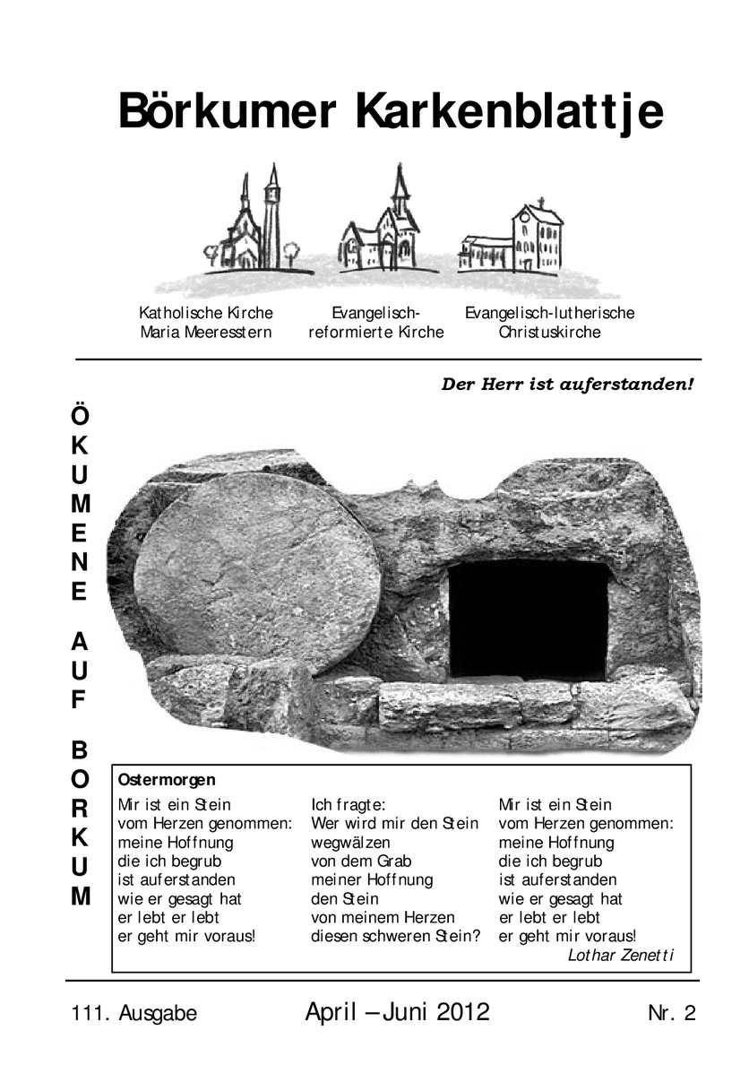 Calaméo Börkumer Karkenblattje April Juni 2012