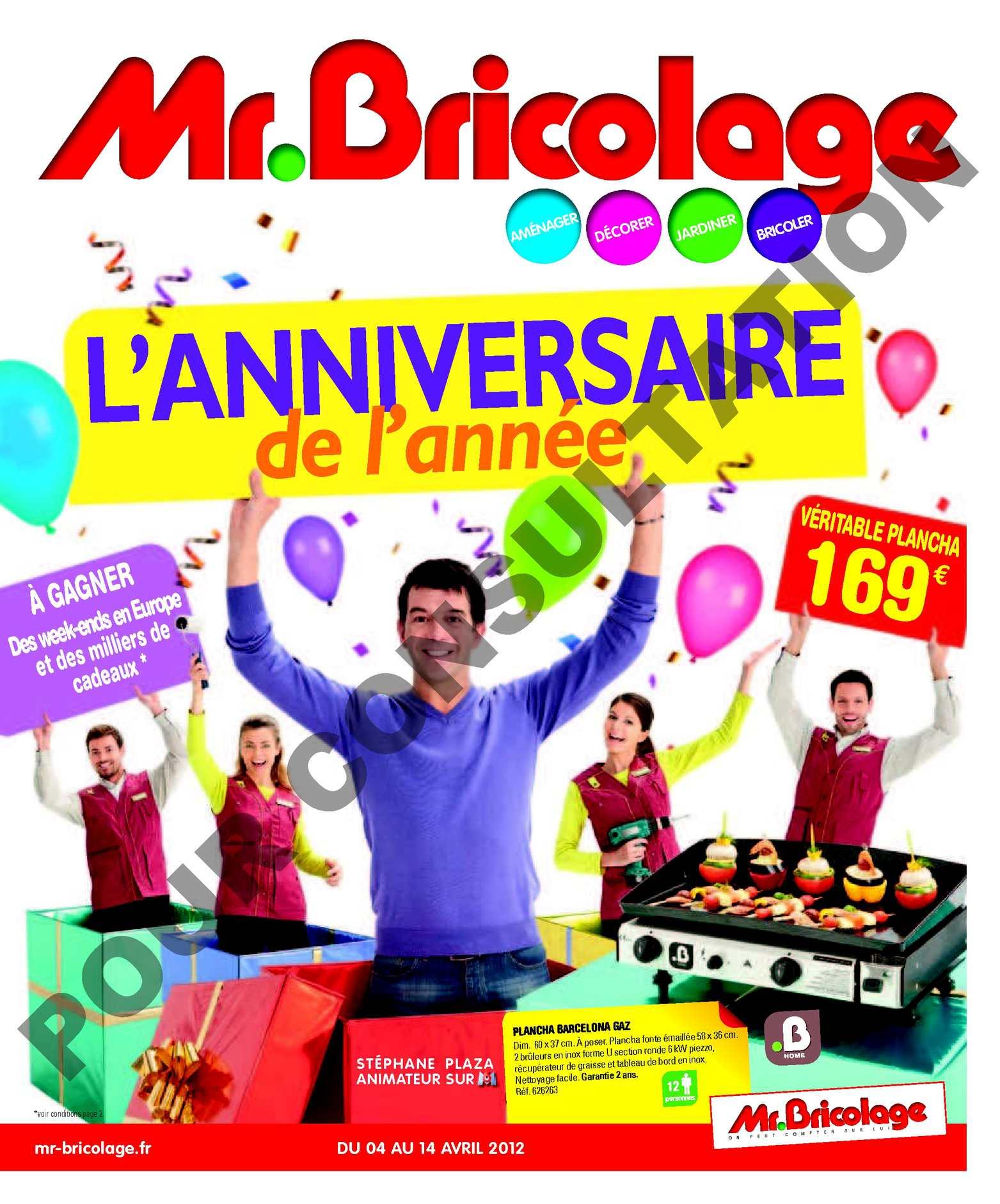 Calaméo Mr Bricolage Lanniversaire De Lannee Du 04