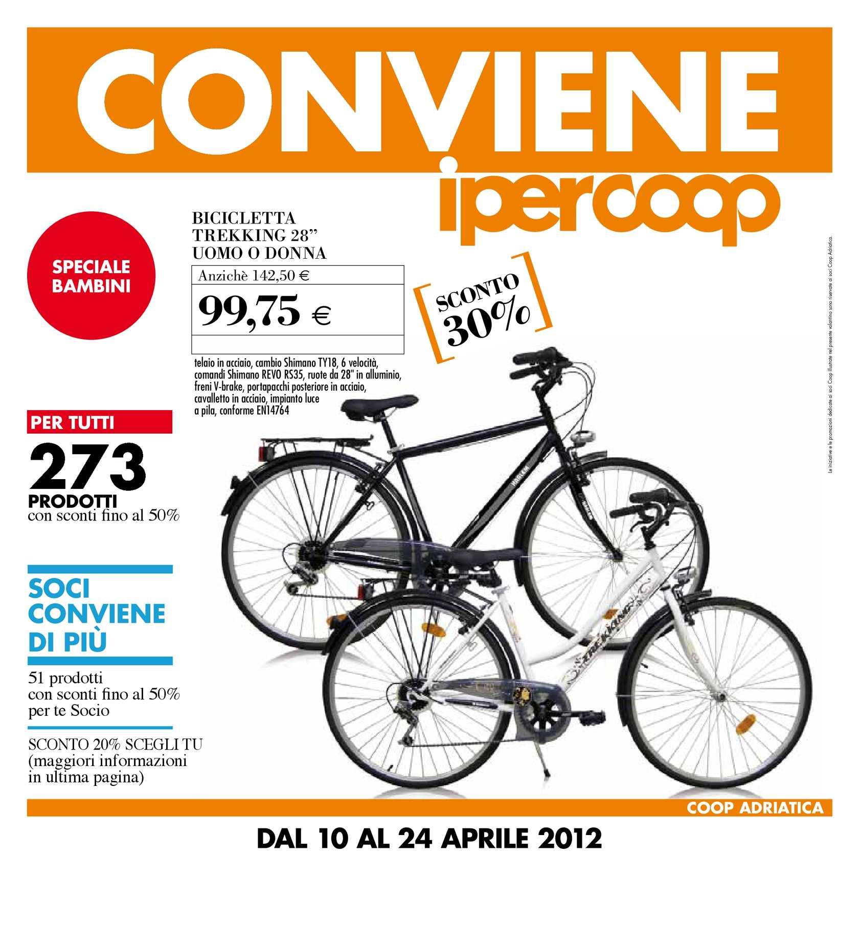 Bicicletta Olanda Ipercoop