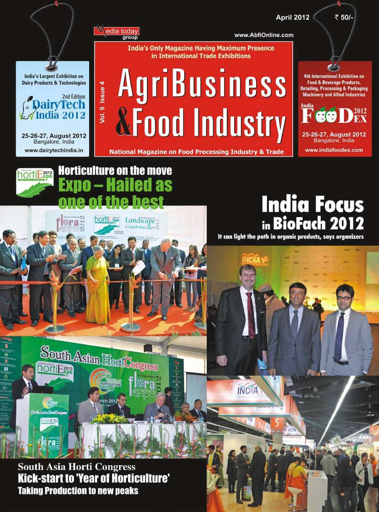 Calaméo - AgriBusiness & Food Industry - INDIA