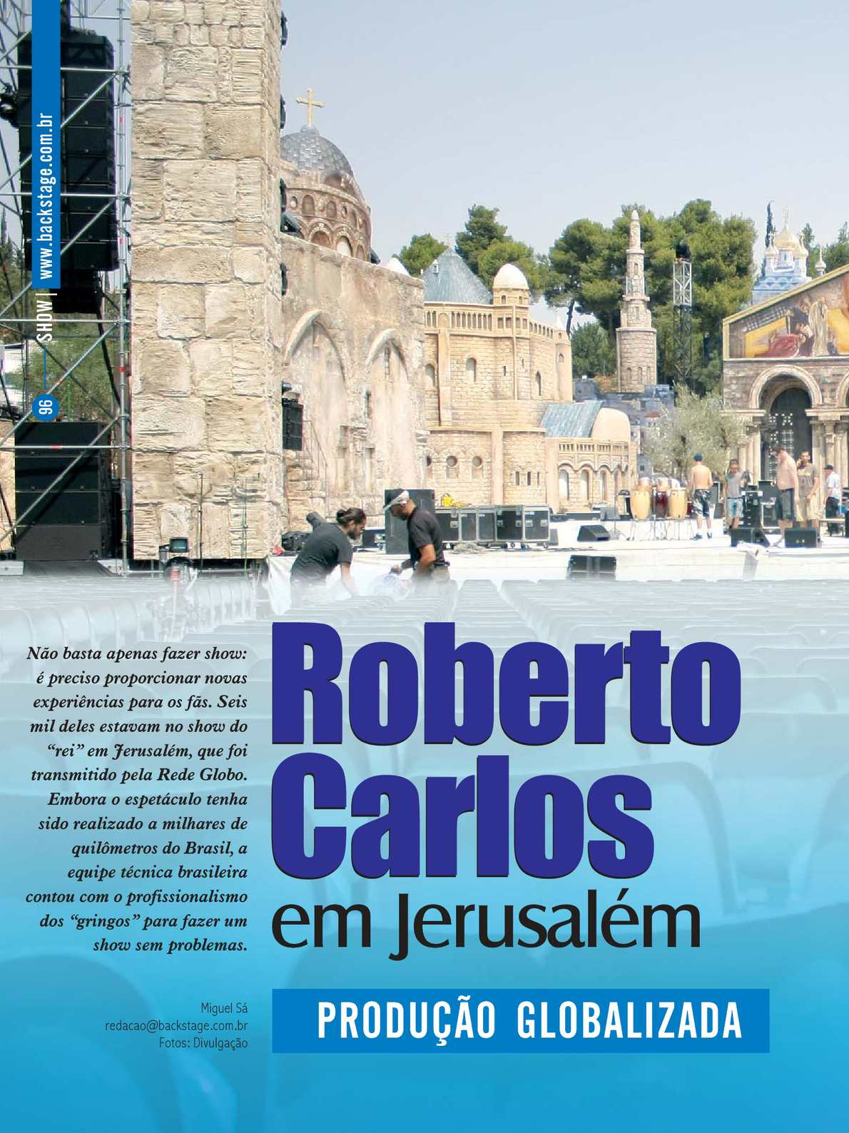 EM CARLOS JERUSALEM RMVB ROBERTO DVD BAIXAR