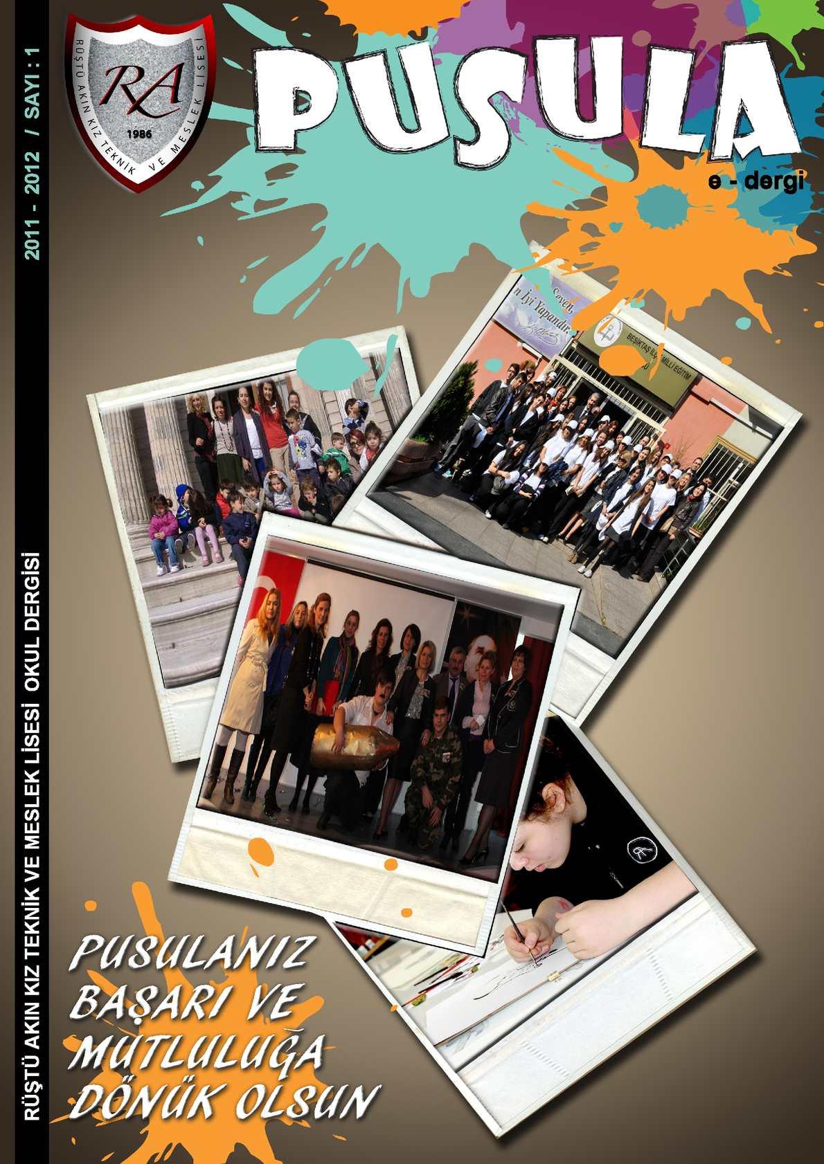 Calameo Rustu Akin Kiz Teknik Ve Meslek Lisesi E Dergi 2011 2012